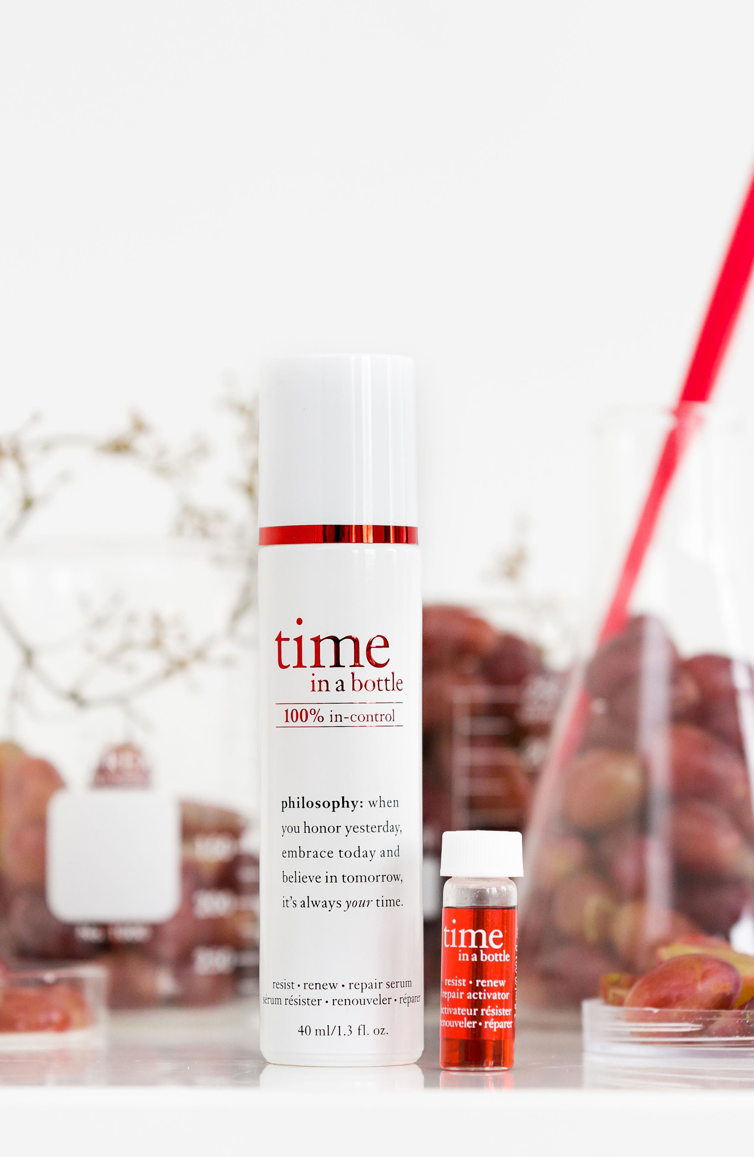 Alternate Image 3  - philosophy time in a bottle face serum
