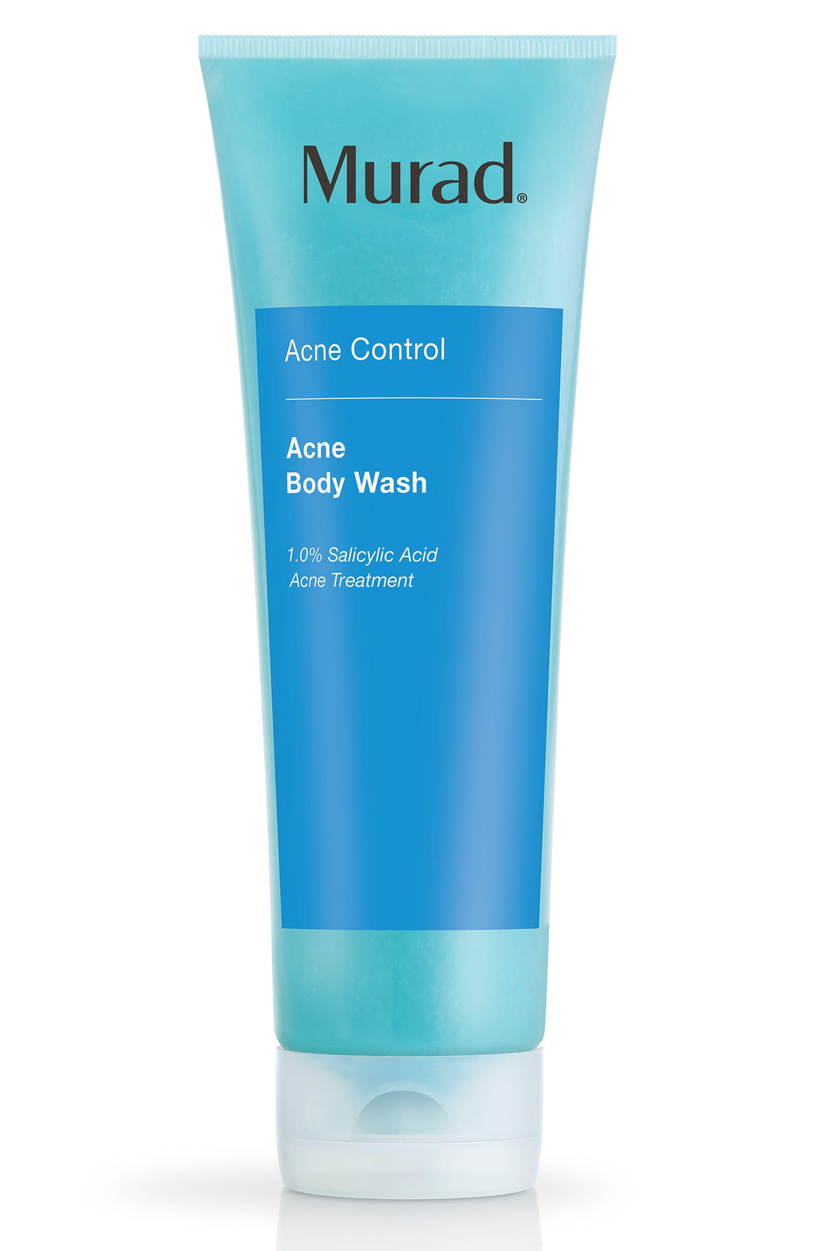 Acne Body Wash,                             Main thumbnail 1, color,                             No Color