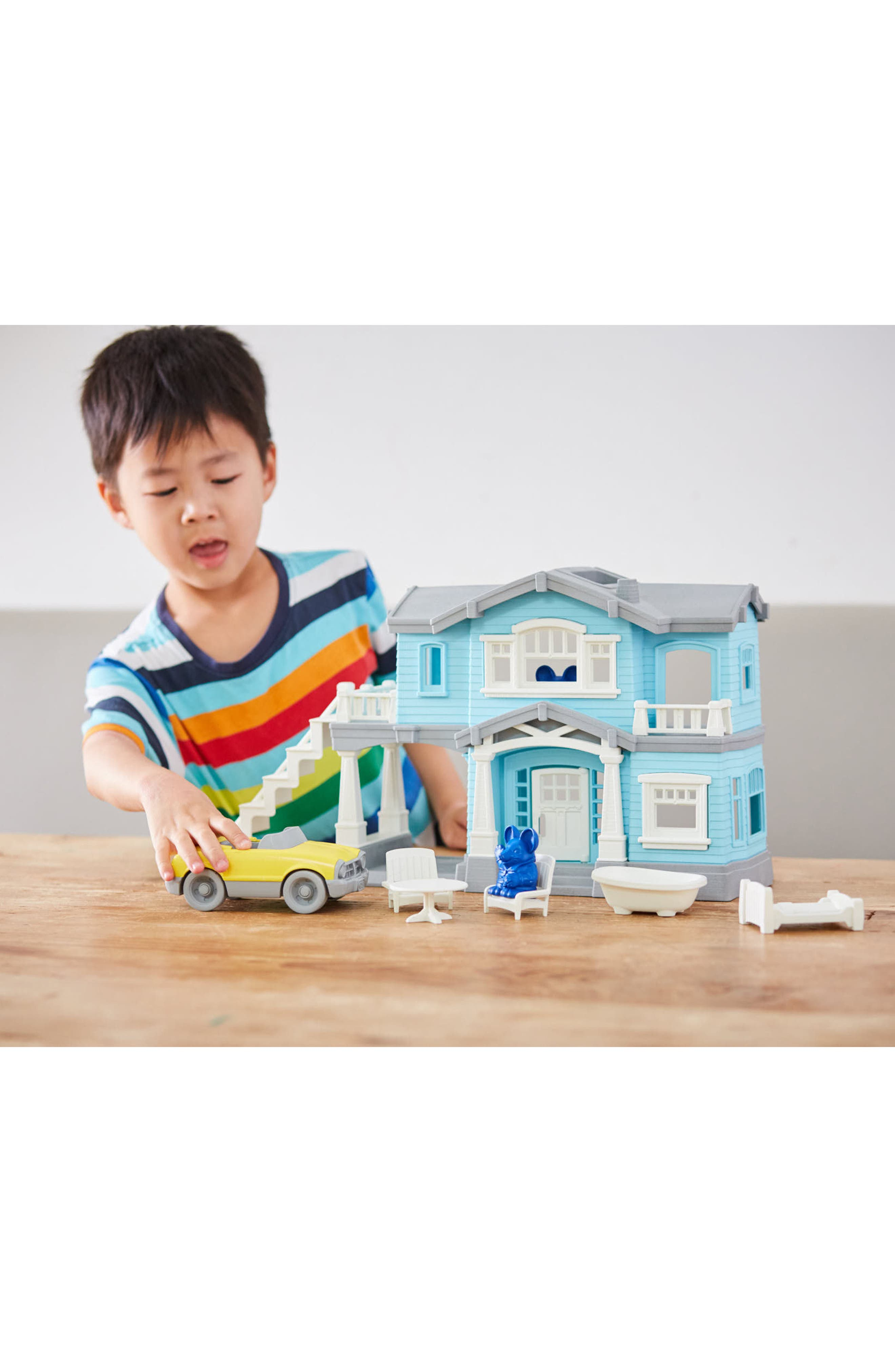 Alternate Image 2  - Green Toys 10-Piece House Play Set