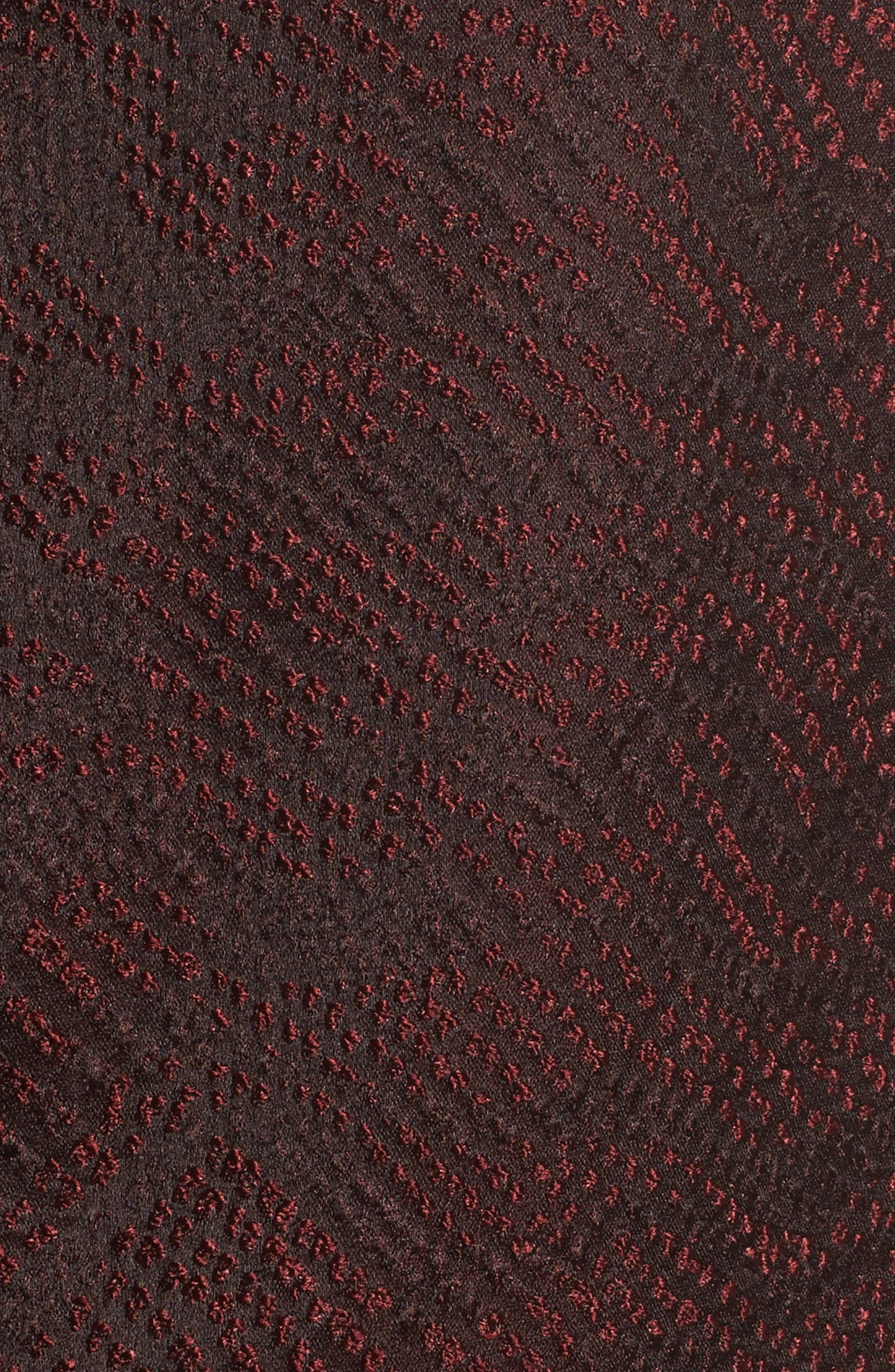 Alternate Image 5  - Eileen Fisher Silk Blend Jacquard Jacket (Plus Size)