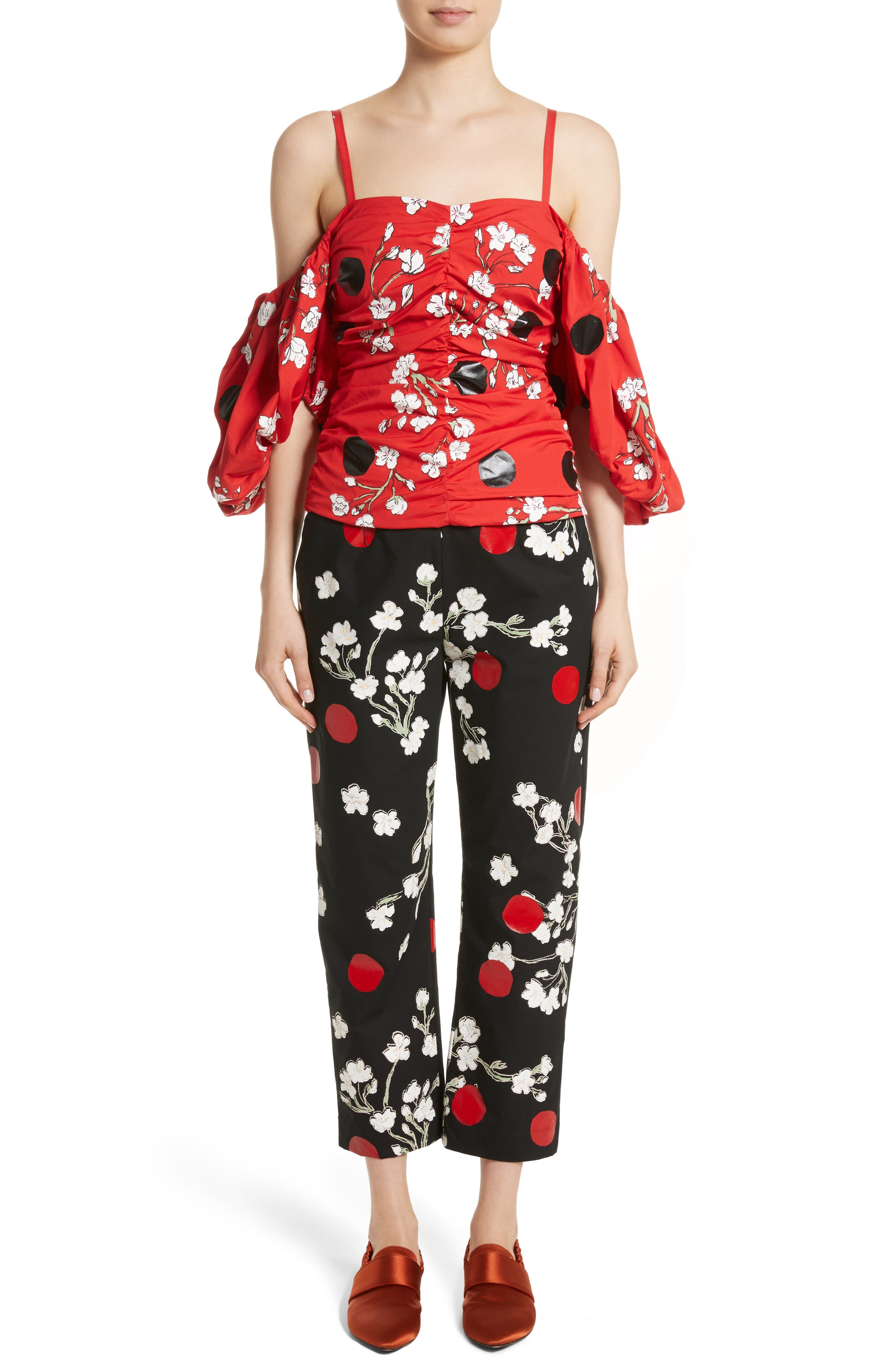Alternate Image 7  - Isa Arfen Classic Pantalone Crop Pants
