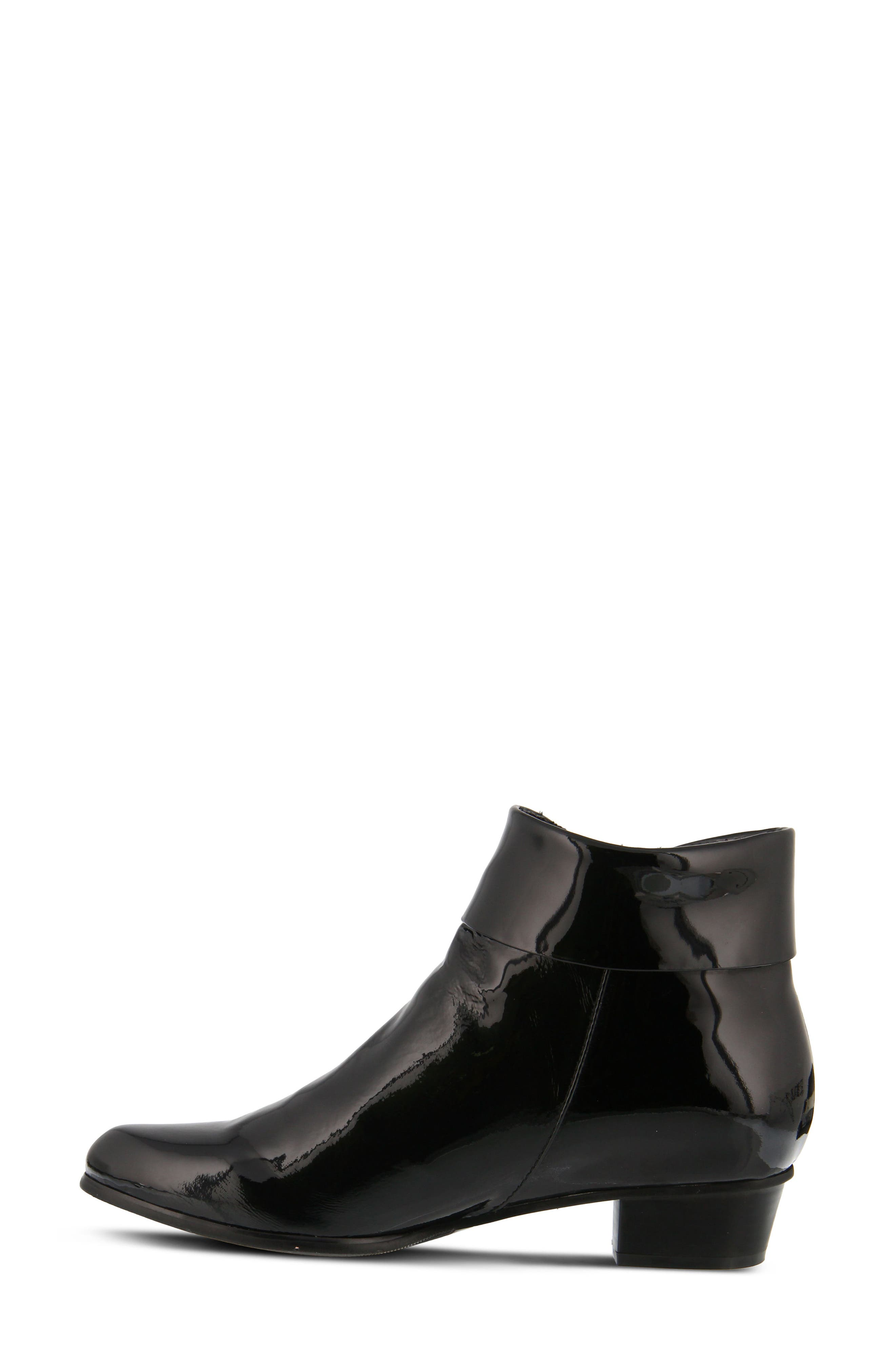 'Stockholm' Boot,                             Alternate thumbnail 4, color,                             Black Patent Leather