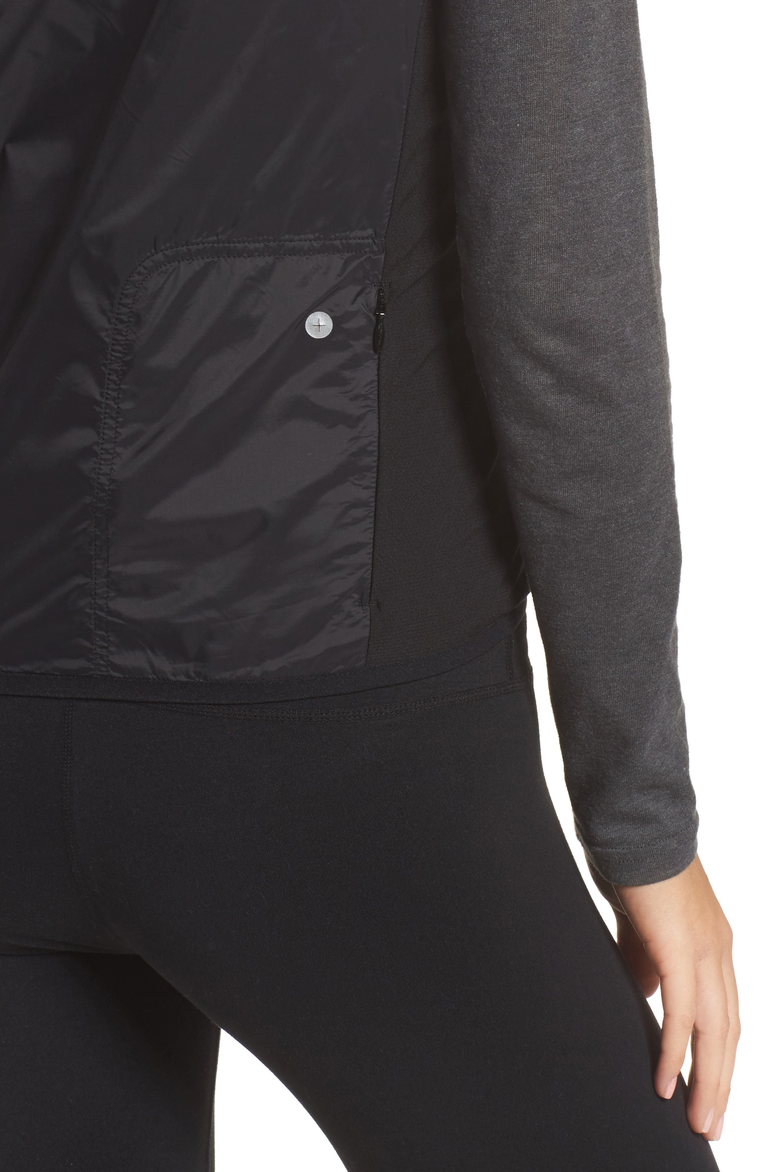 Brecon Beacons Water-Resistant & Windproof Insulated 2-in-1 Jacket,                             Alternate thumbnail 5, color,                             Black