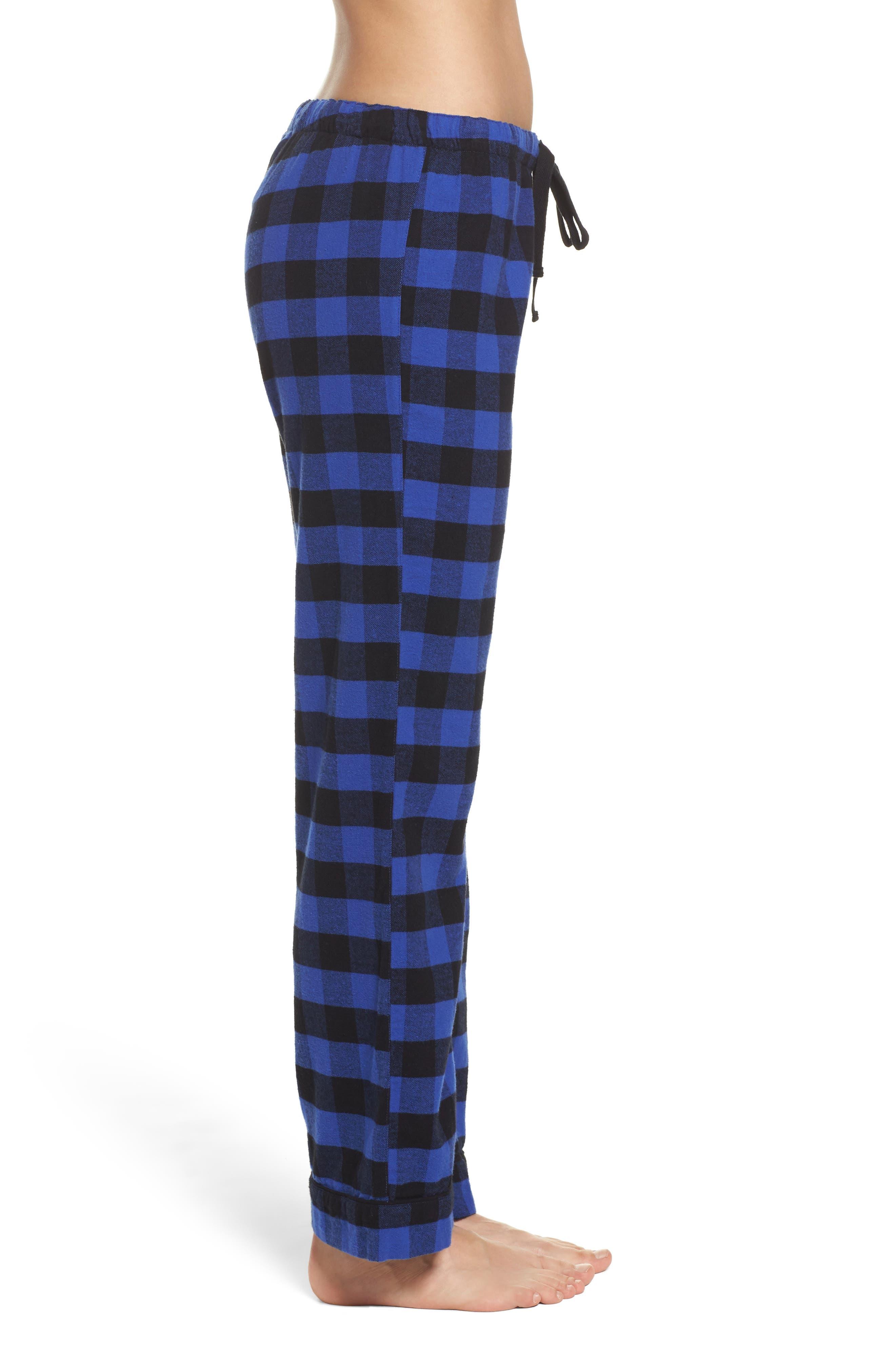 Pajama Pants,                             Alternate thumbnail 3, color,                             Royal
