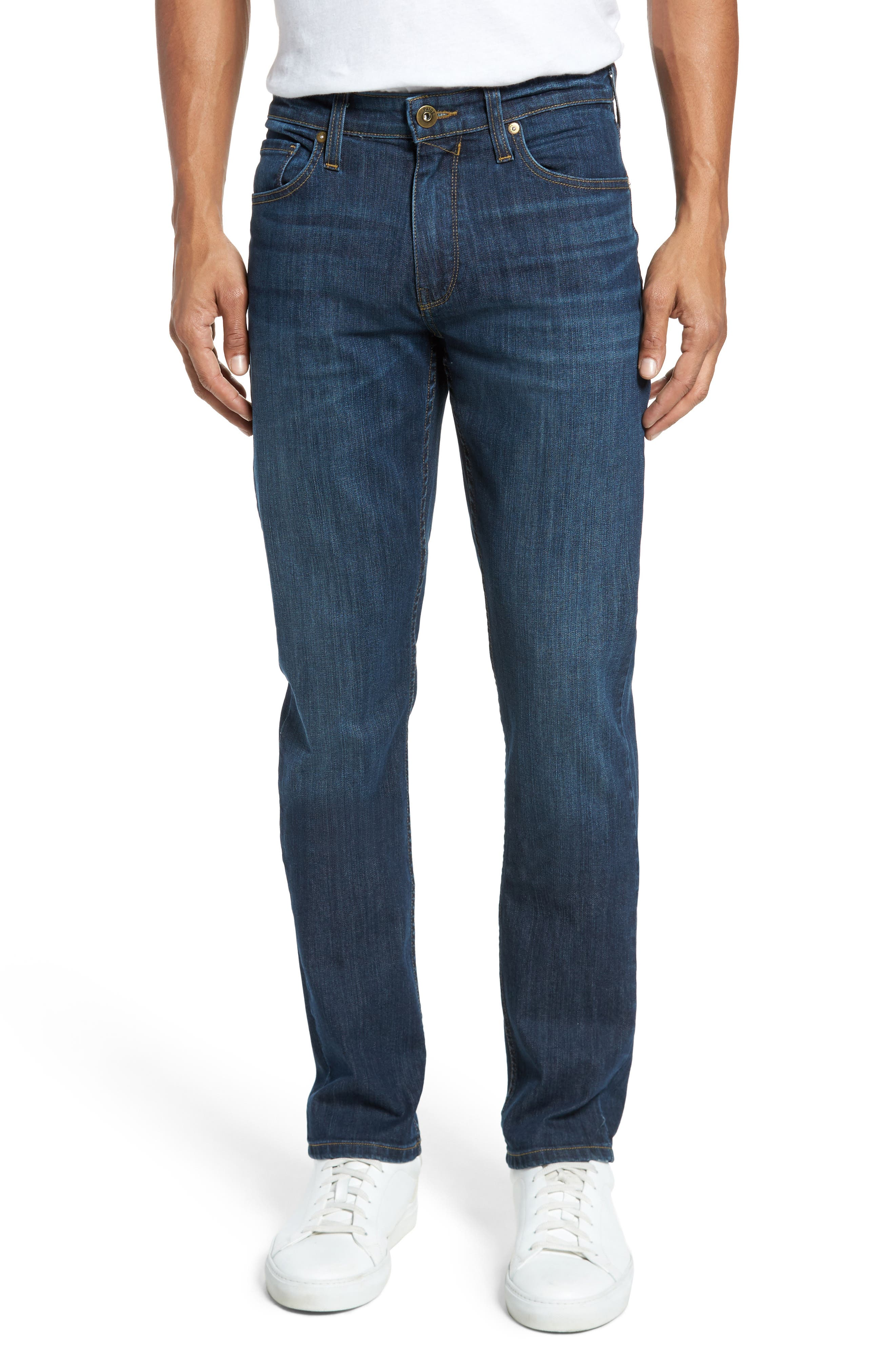 Alternate Image 1 Selected - PAIGE Lennox Slim Fit Jeans (Ridge)