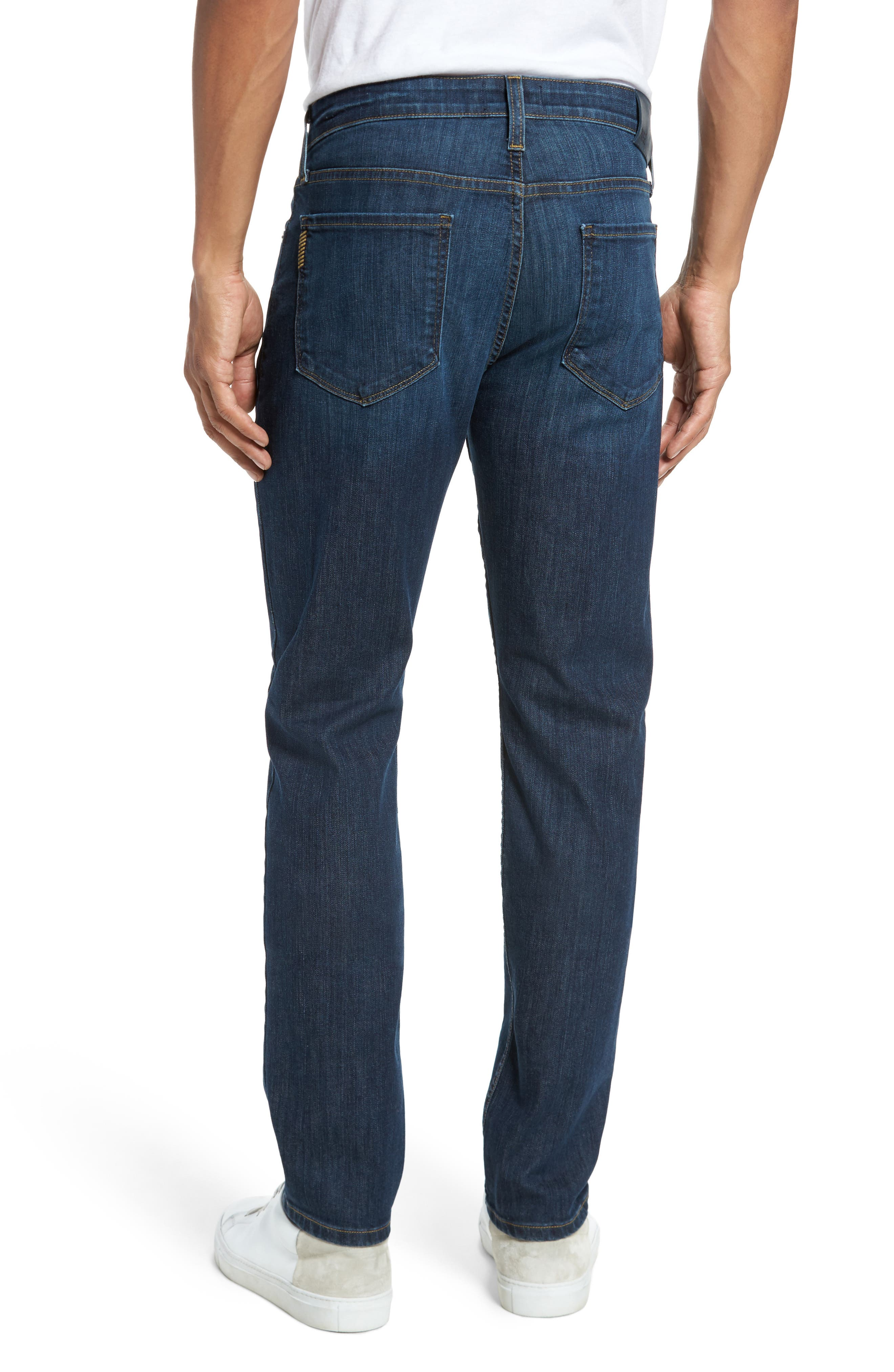 Alternate Image 2  - PAIGE Lennox Slim Fit Jeans (Ridge)