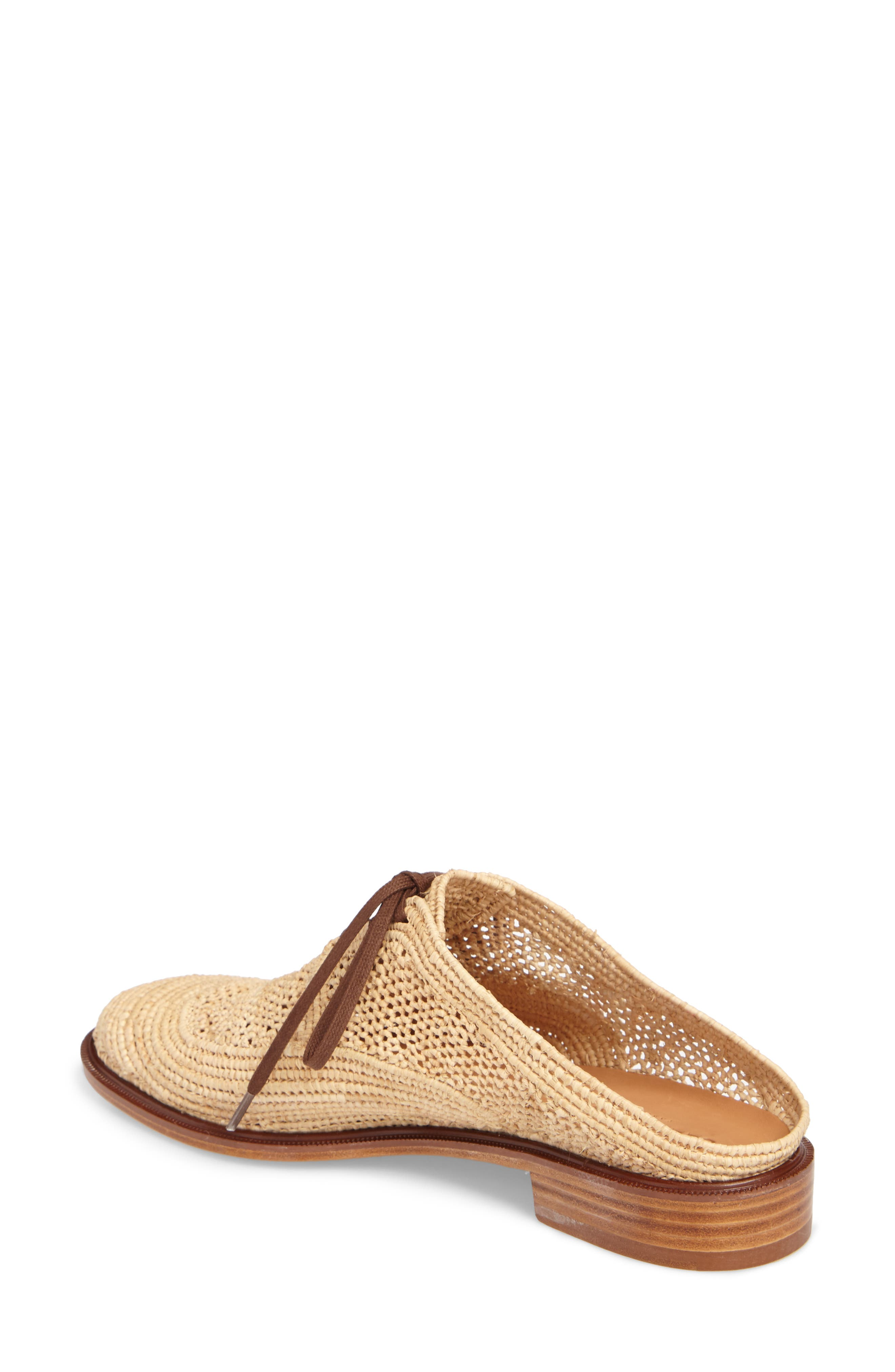 Alternate Image 2  - Robert Clergerie Jaly Woven Loafer Mule (Women)
