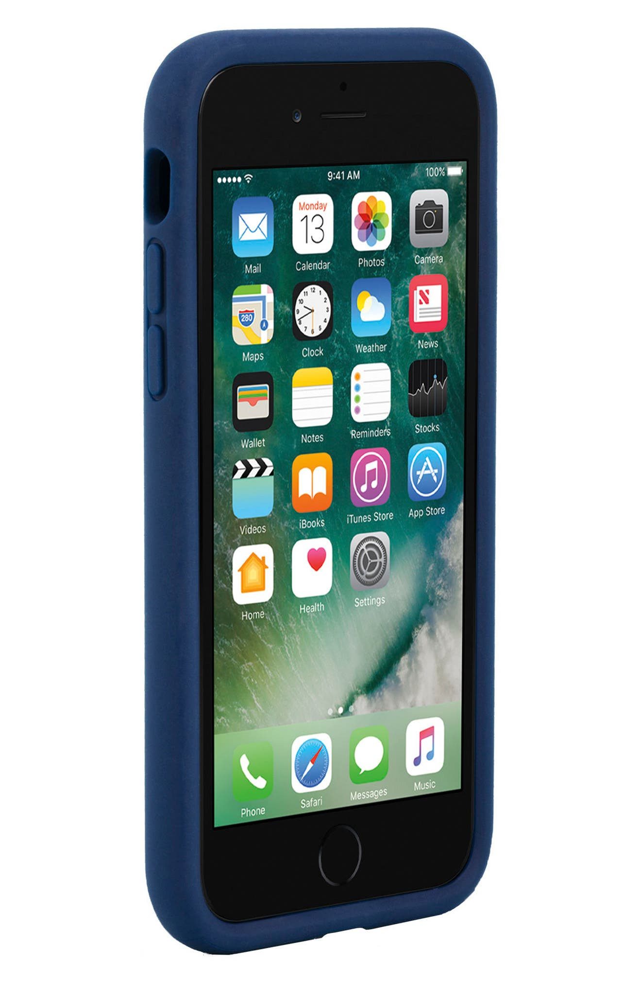 Icon iPhone 7 & 8 Case,                             Alternate thumbnail 6, color,                             Navy