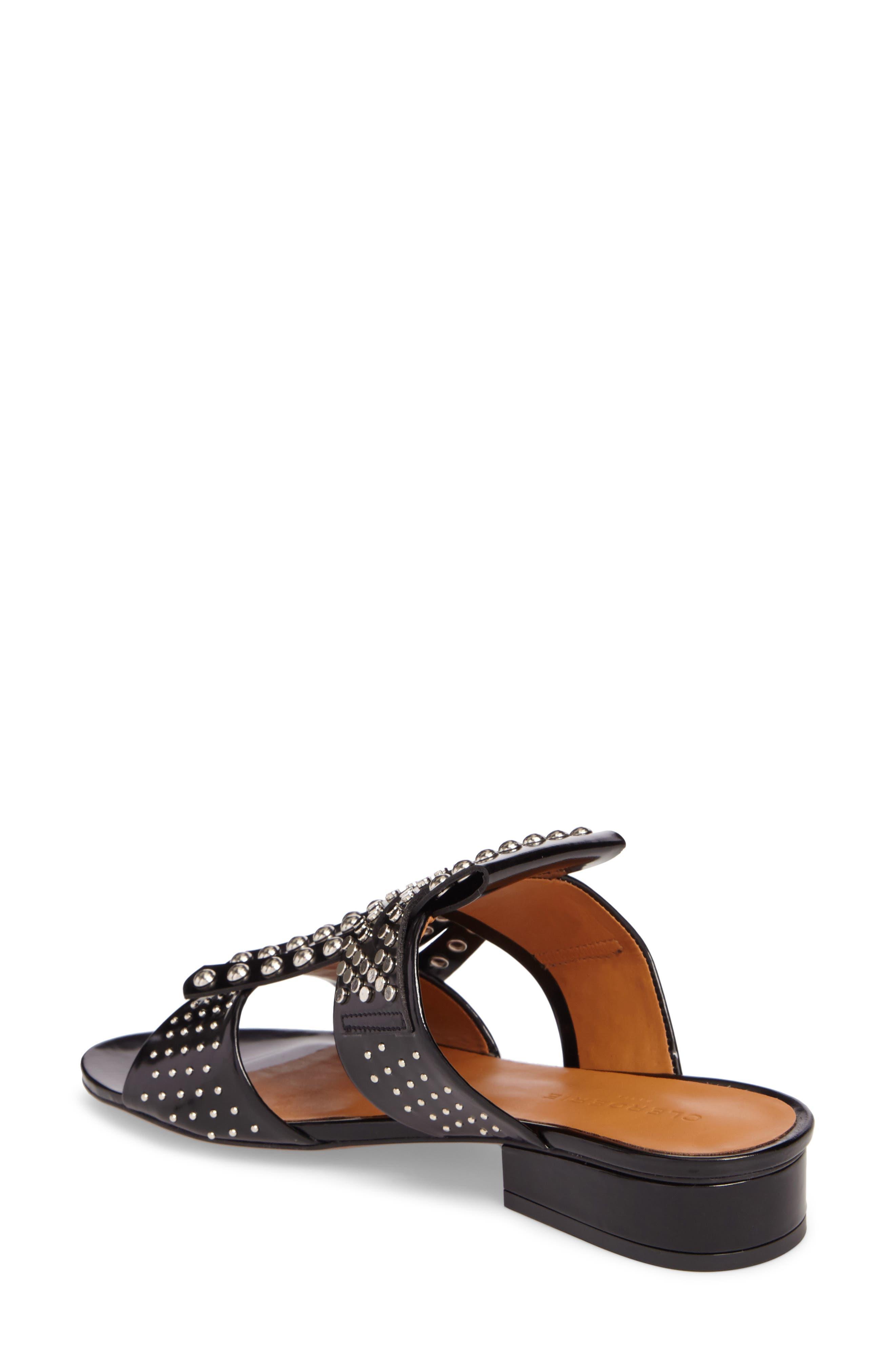 Figlouc Studded Sandal,                             Alternate thumbnail 2, color,                             Black