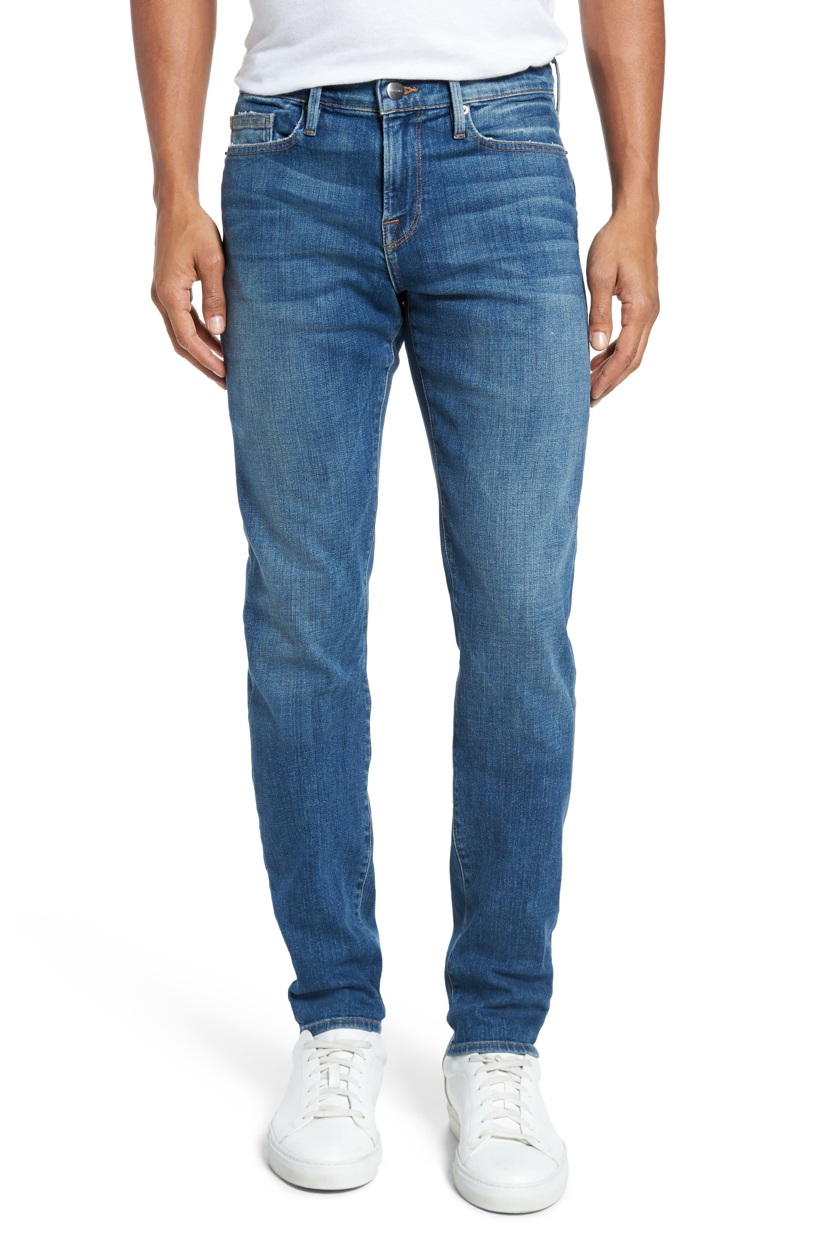 Main Image - FRAME L'Homme Slim Fit Jeans (Jackson Hole)