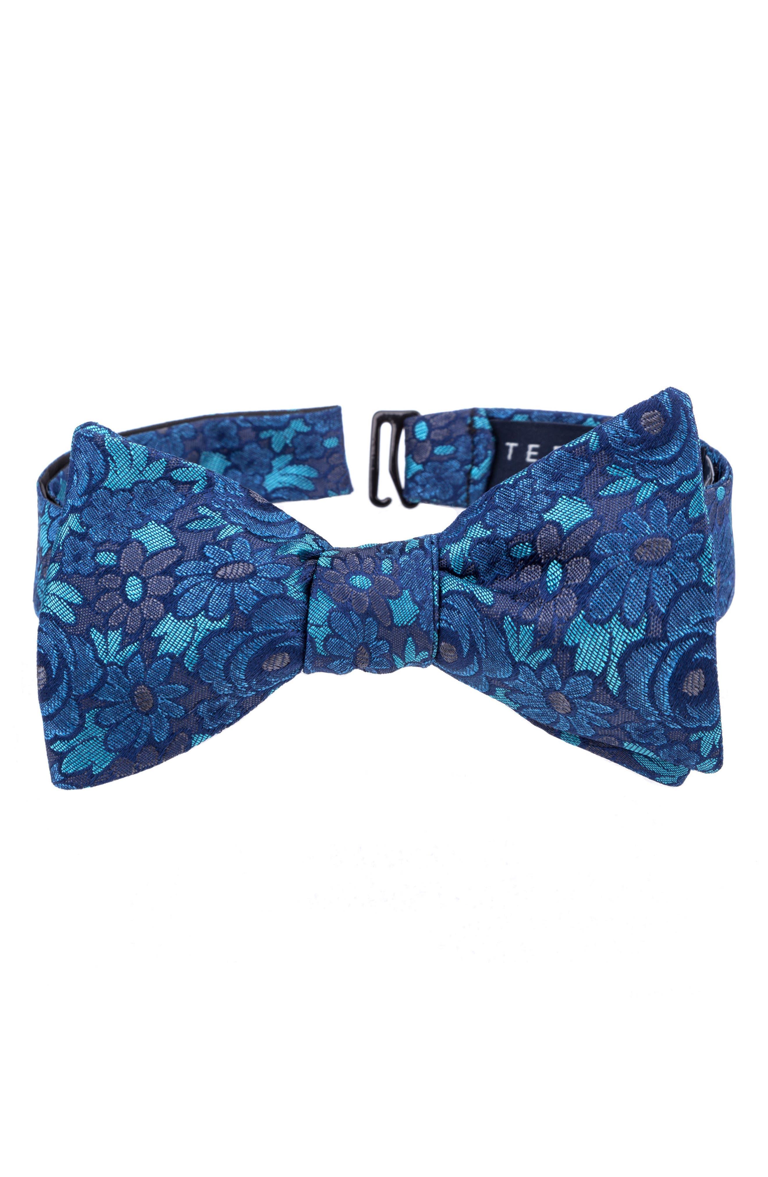 Alternate Image 1 Selected - Ted Baker London Botanical Silk Bow Tie