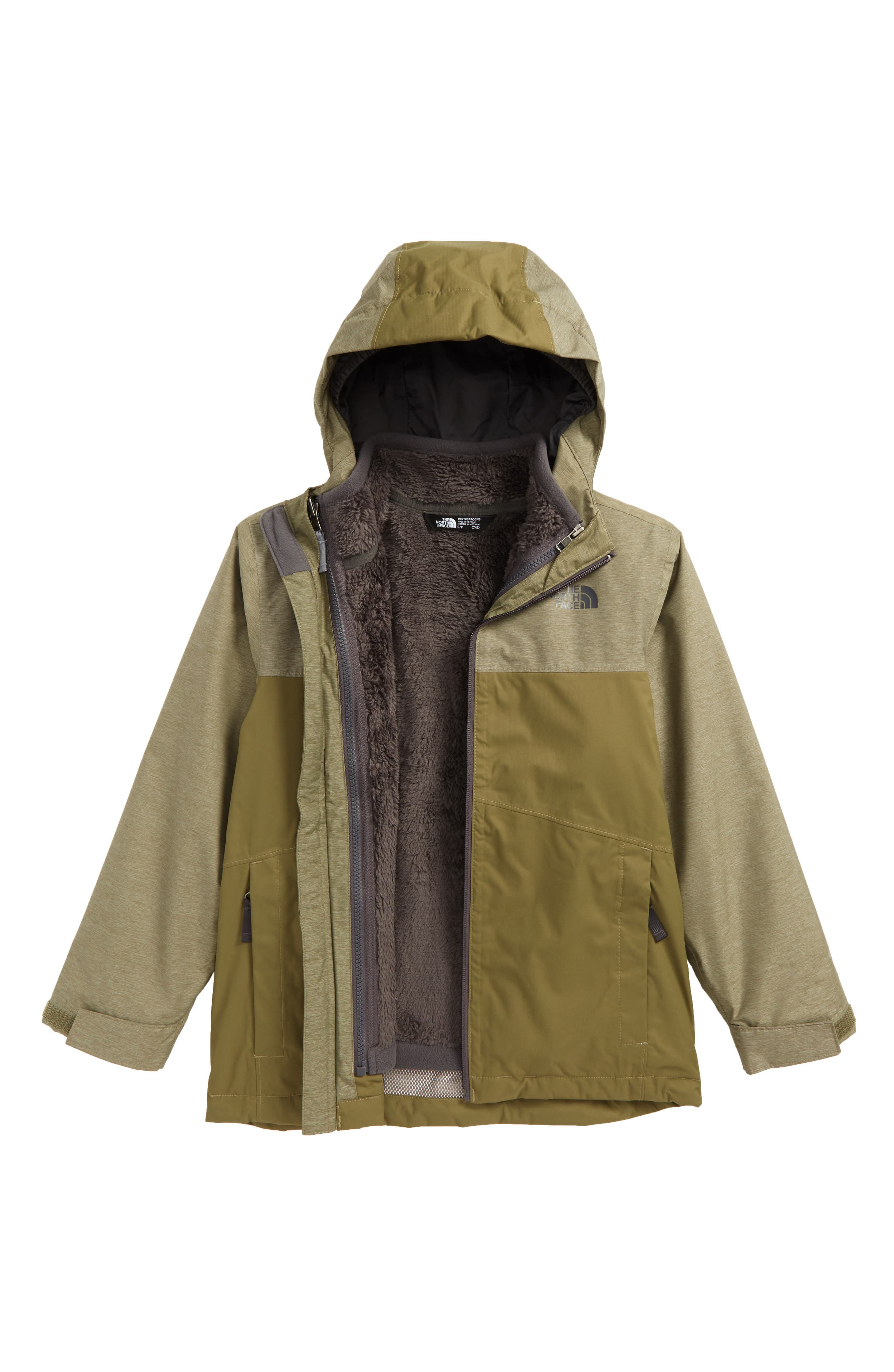 The North Face Chimborazo Triclimate® 3-in-1 Jacket (Big Boys)