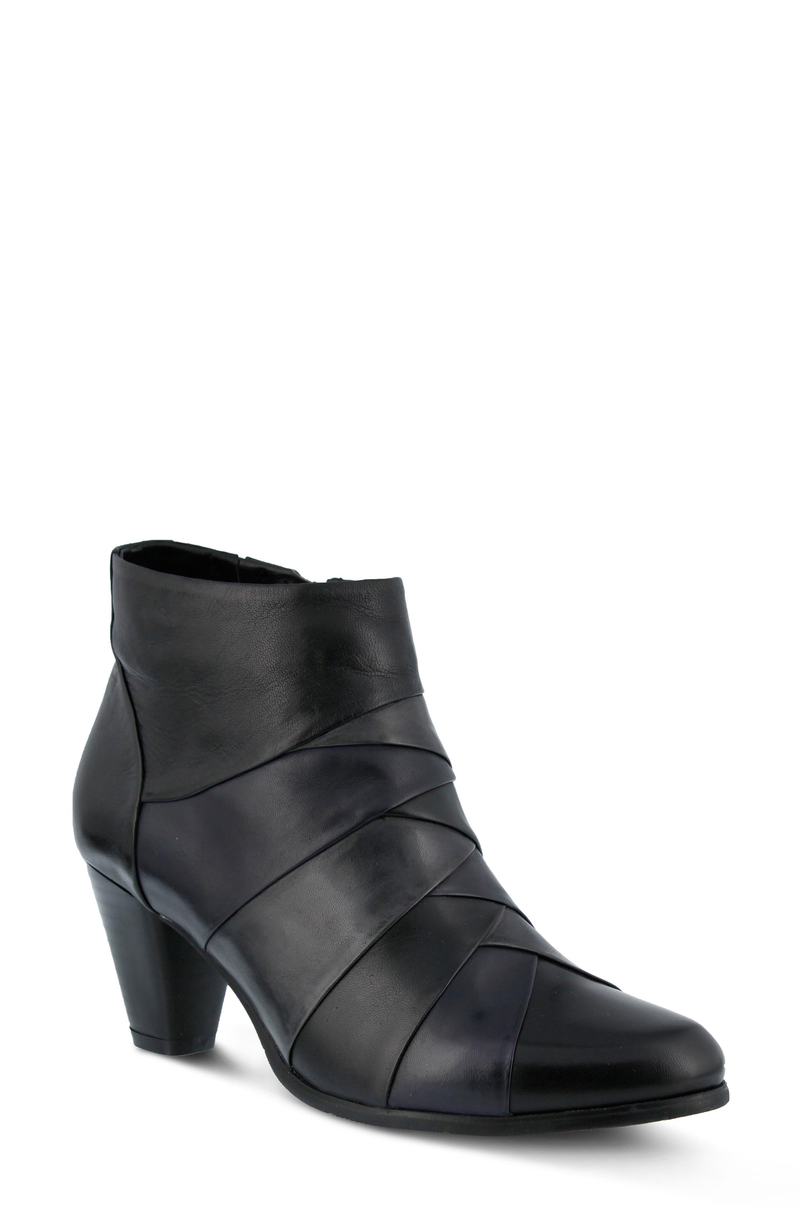 Binzo Bootie,                         Main,                         color, Black Multi Leather