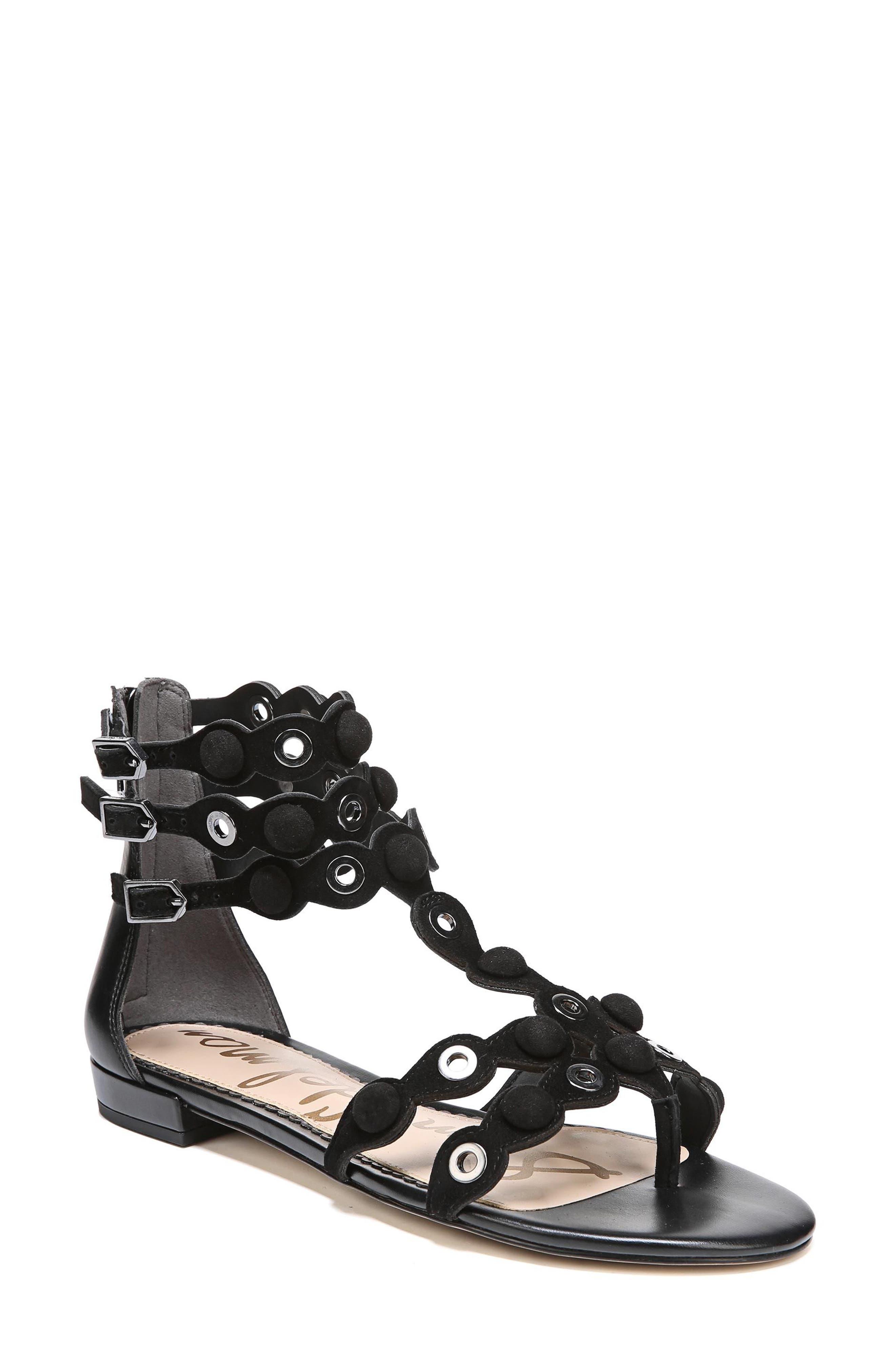 Sam Edelman Desi Suede Sandals Perfect Cheap Price rLcVhH