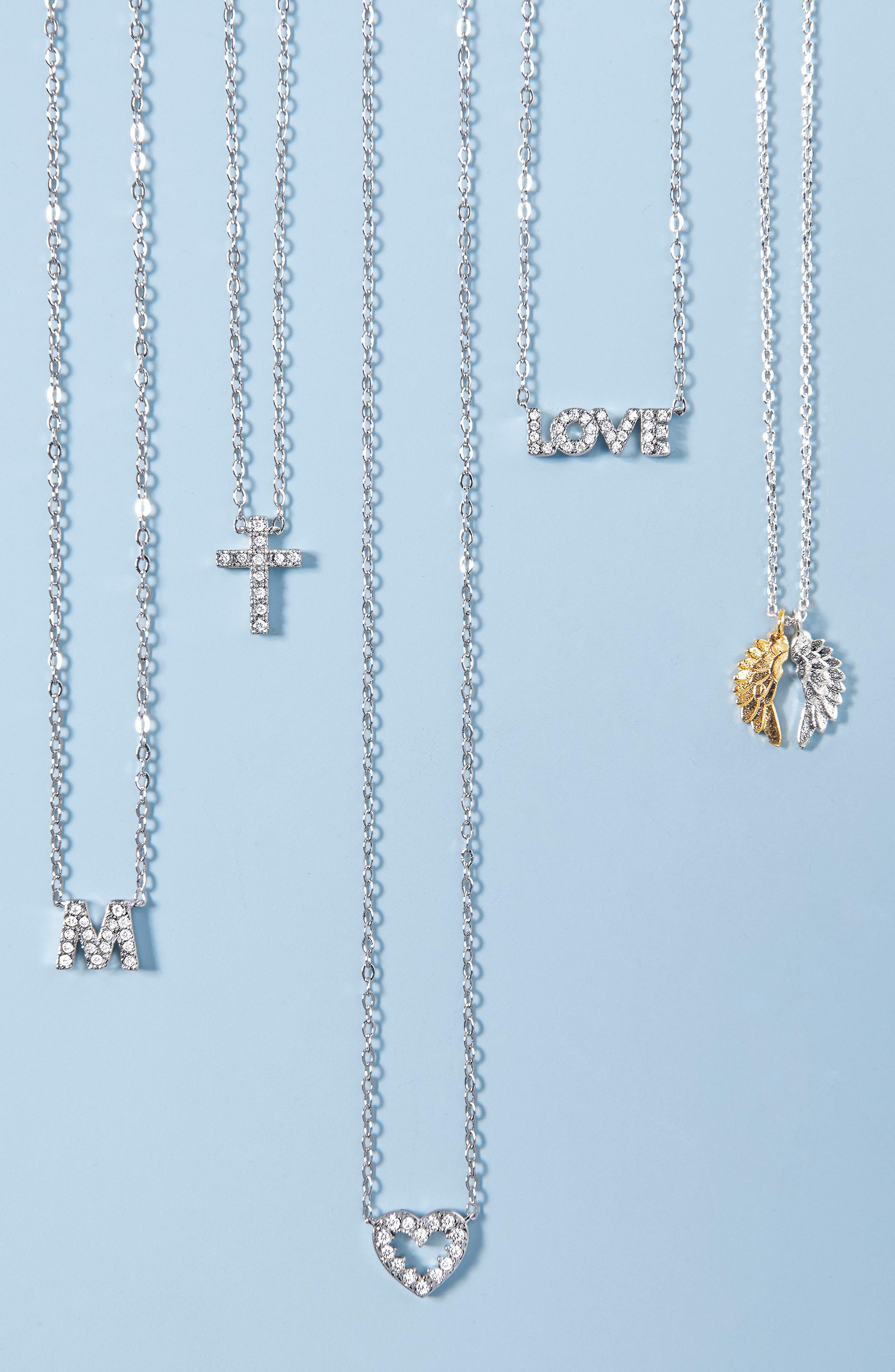 Alternate Image 3  - Nadri Cross Necklace