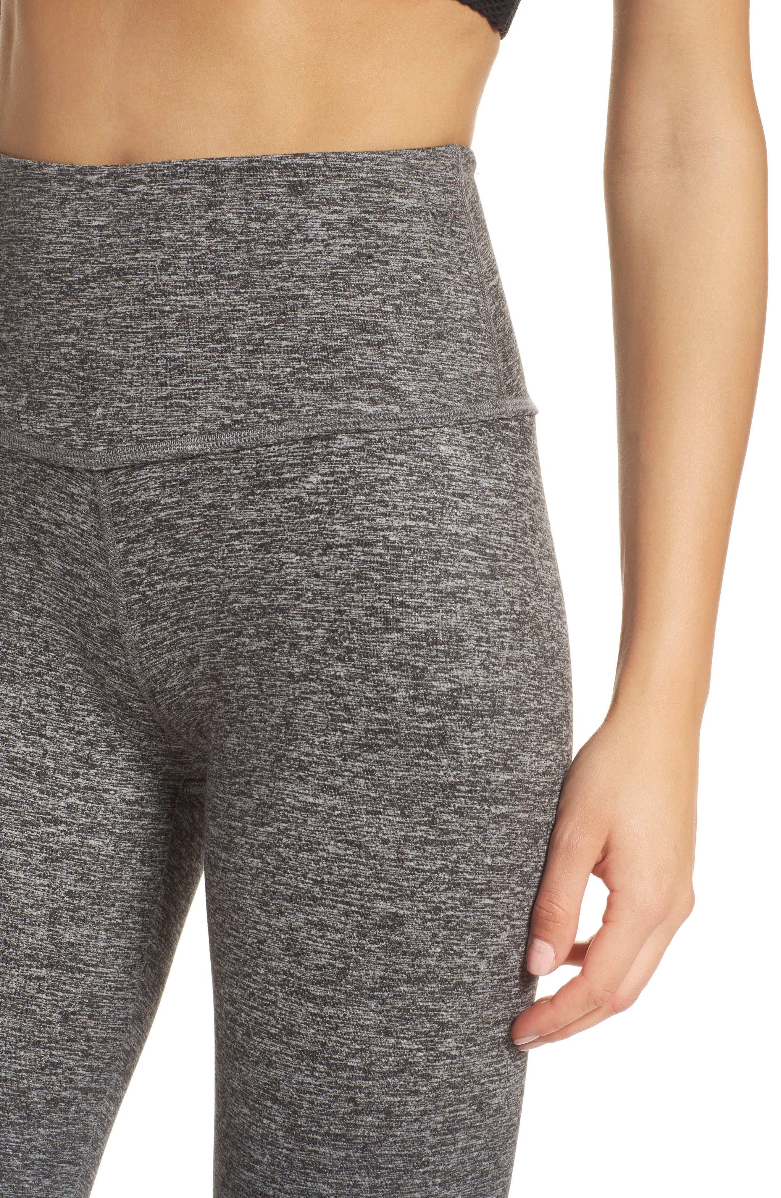 Alternate Image 4  - Beyond Yoga Space Dye High Waist Leggings
