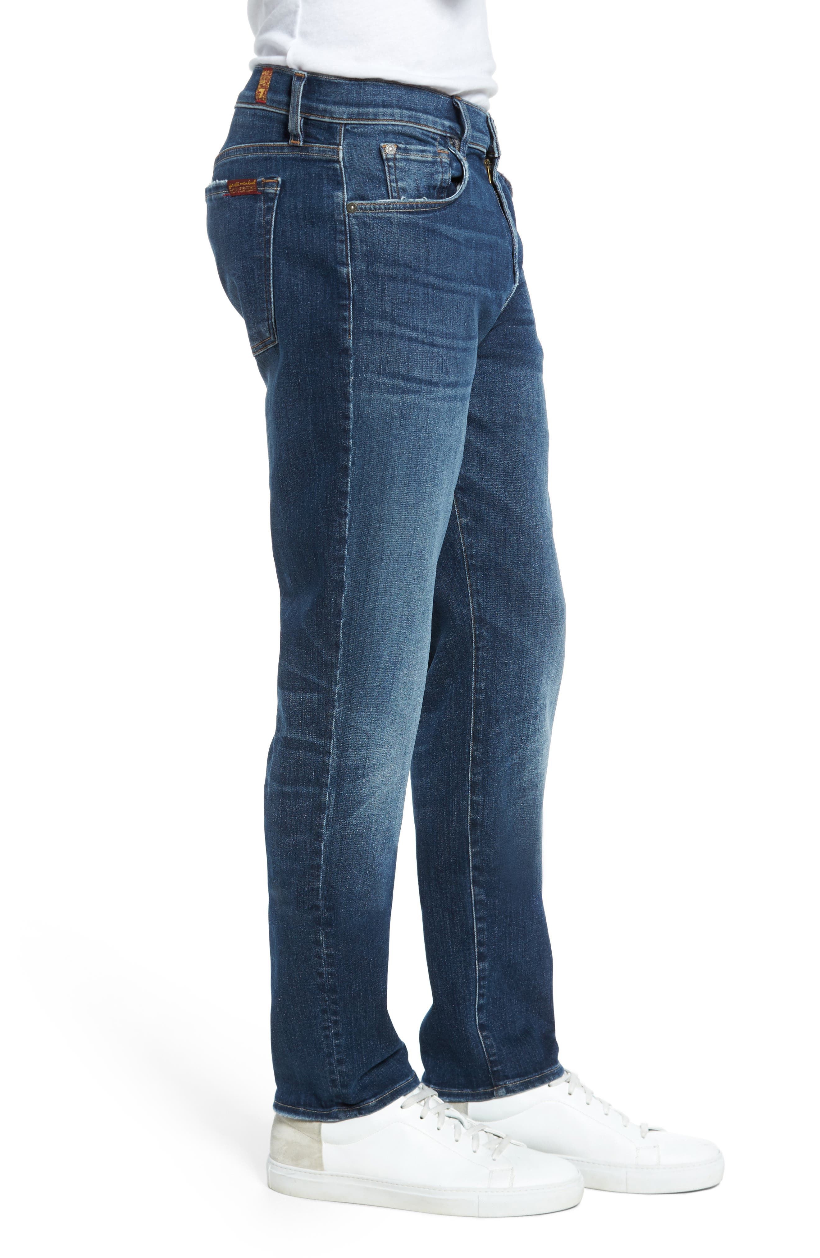 Adrien Slim Fit Jeans,                             Alternate thumbnail 3, color,                             Authentic Euphoria