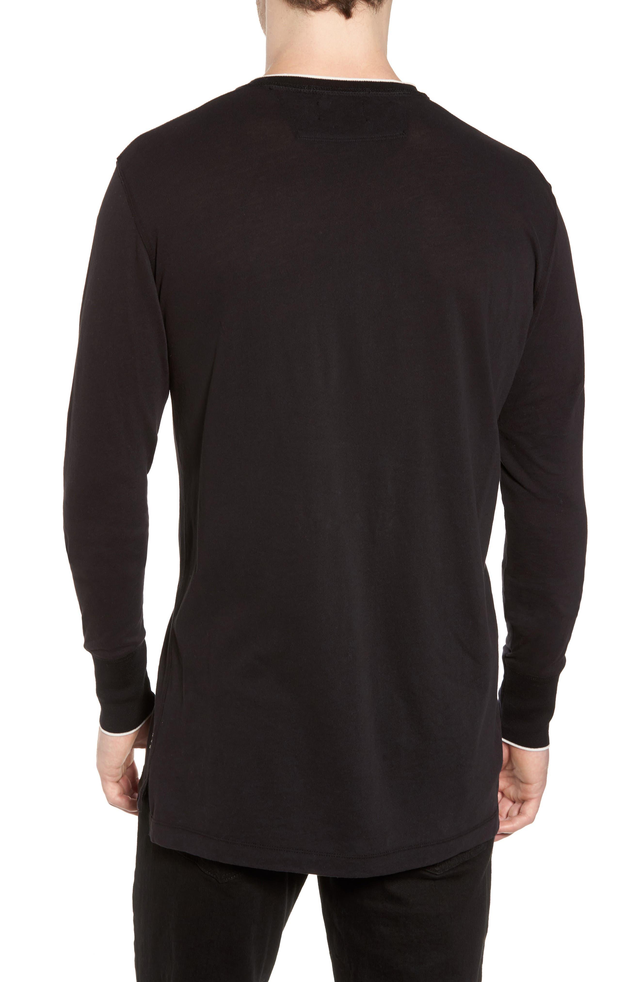 Alternate Image 2  - Scotch & Soda Club Nomade Soft Granddad T-Shirt