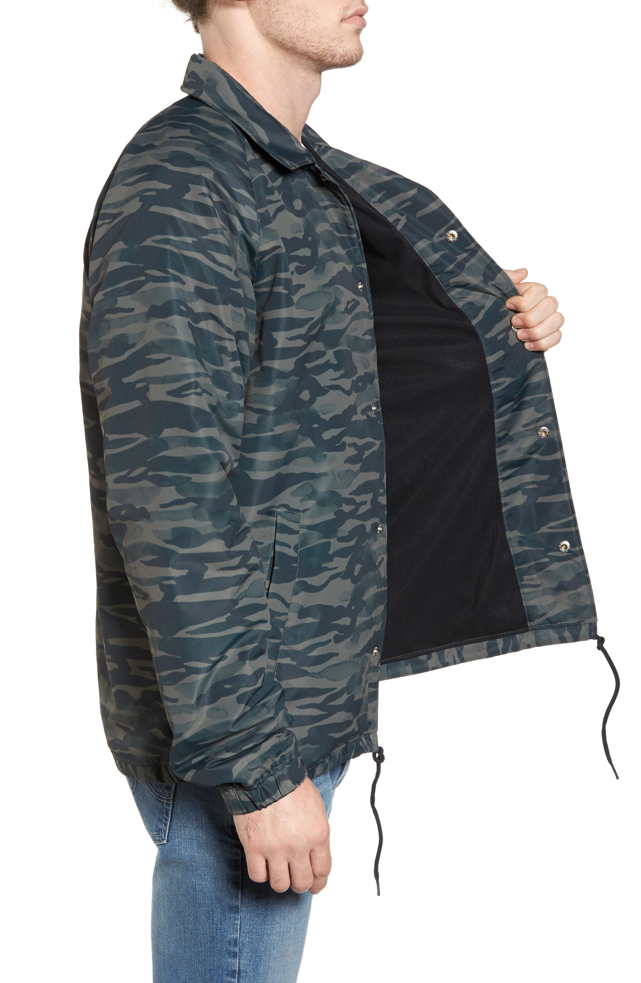 All the Way Coach's Jacket,                             Alternate thumbnail 3, color,                             Camo