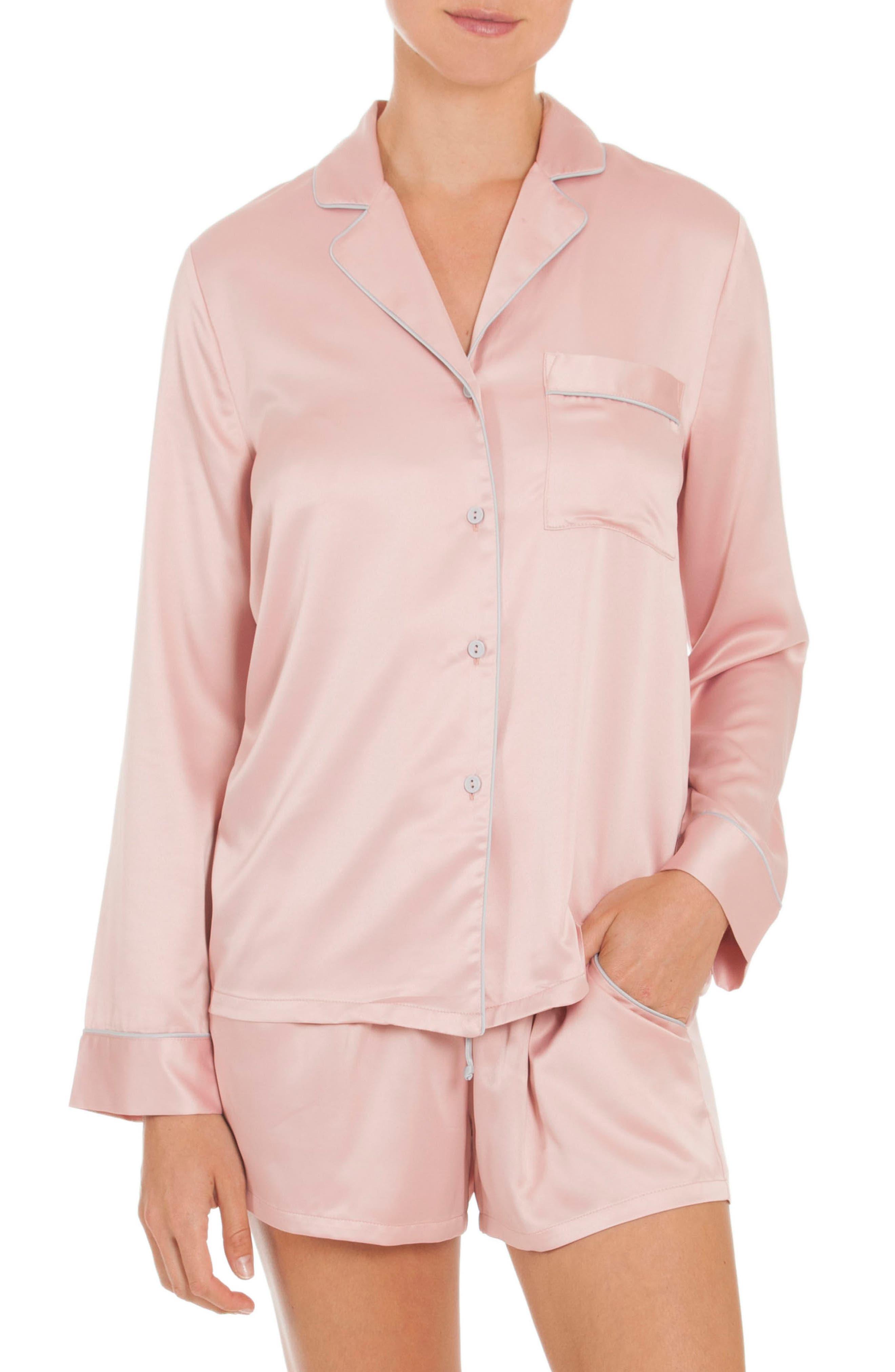 Short Pajamas,                         Main,                         color, Blush