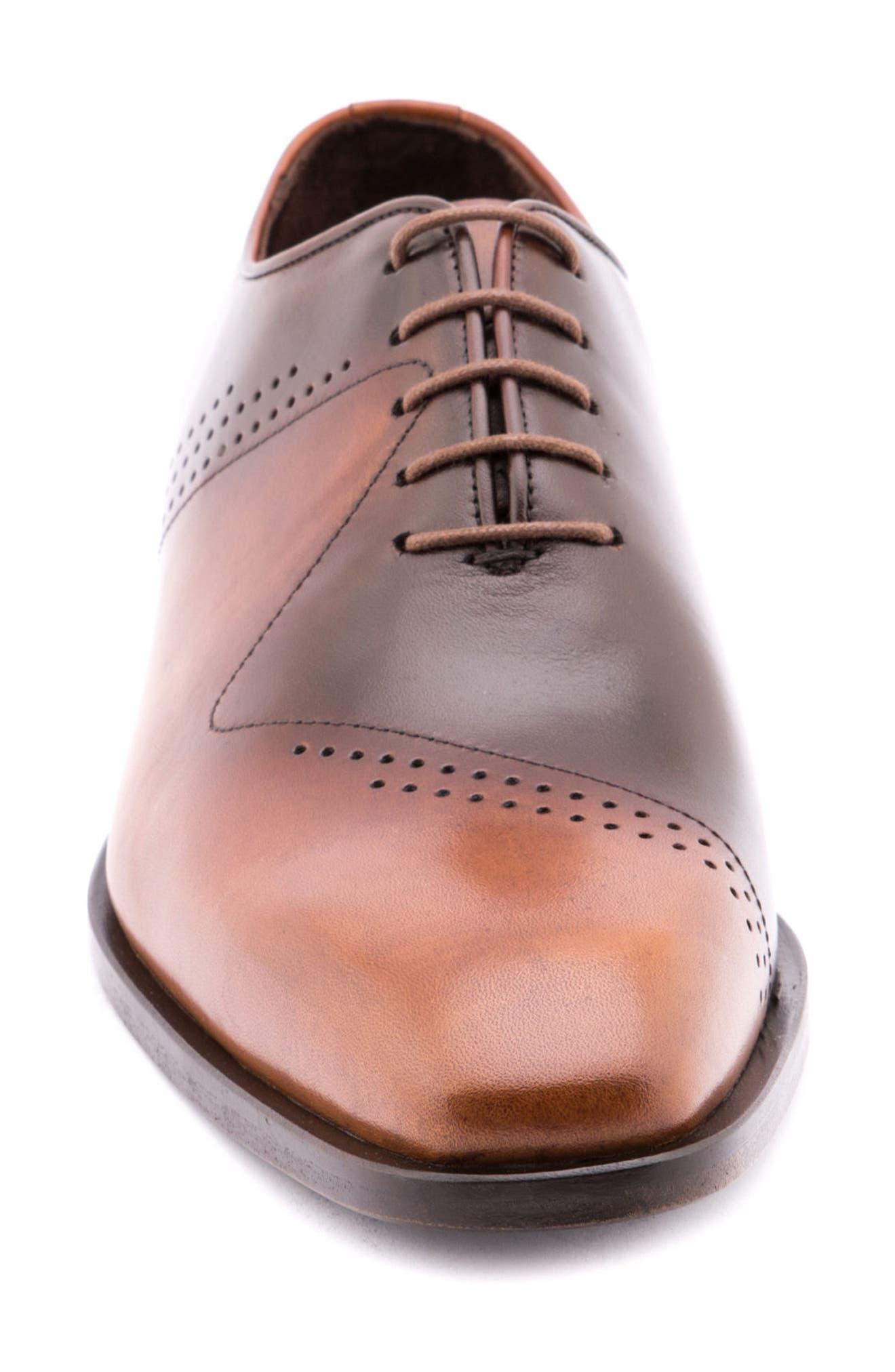 Alternate Image 4  - Jared Lang Buffer Plain Toe Oxford (Men)