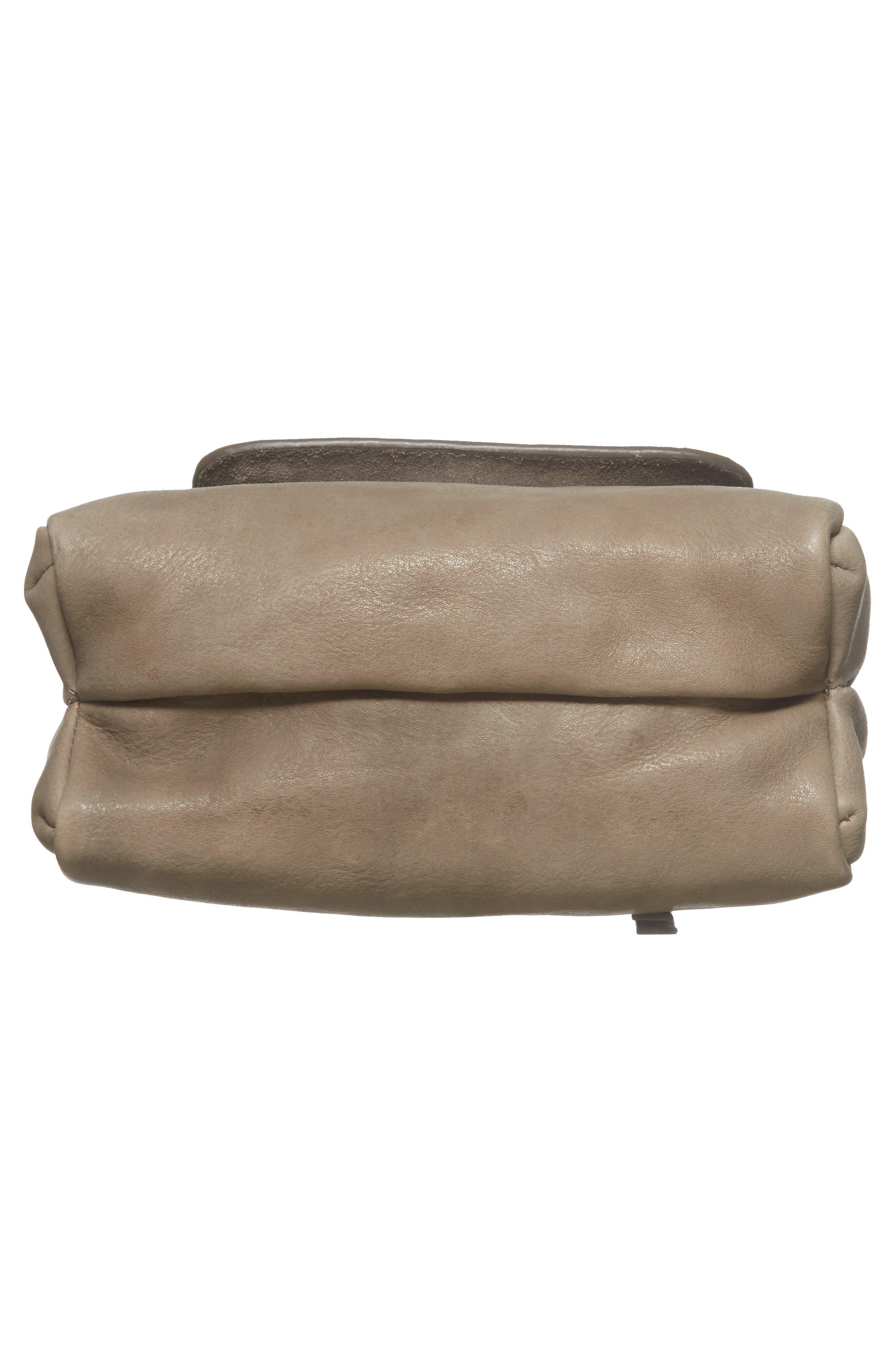 Céline Dion Cadence Crossbody Bag,                             Alternate thumbnail 6, color,                             Grey
