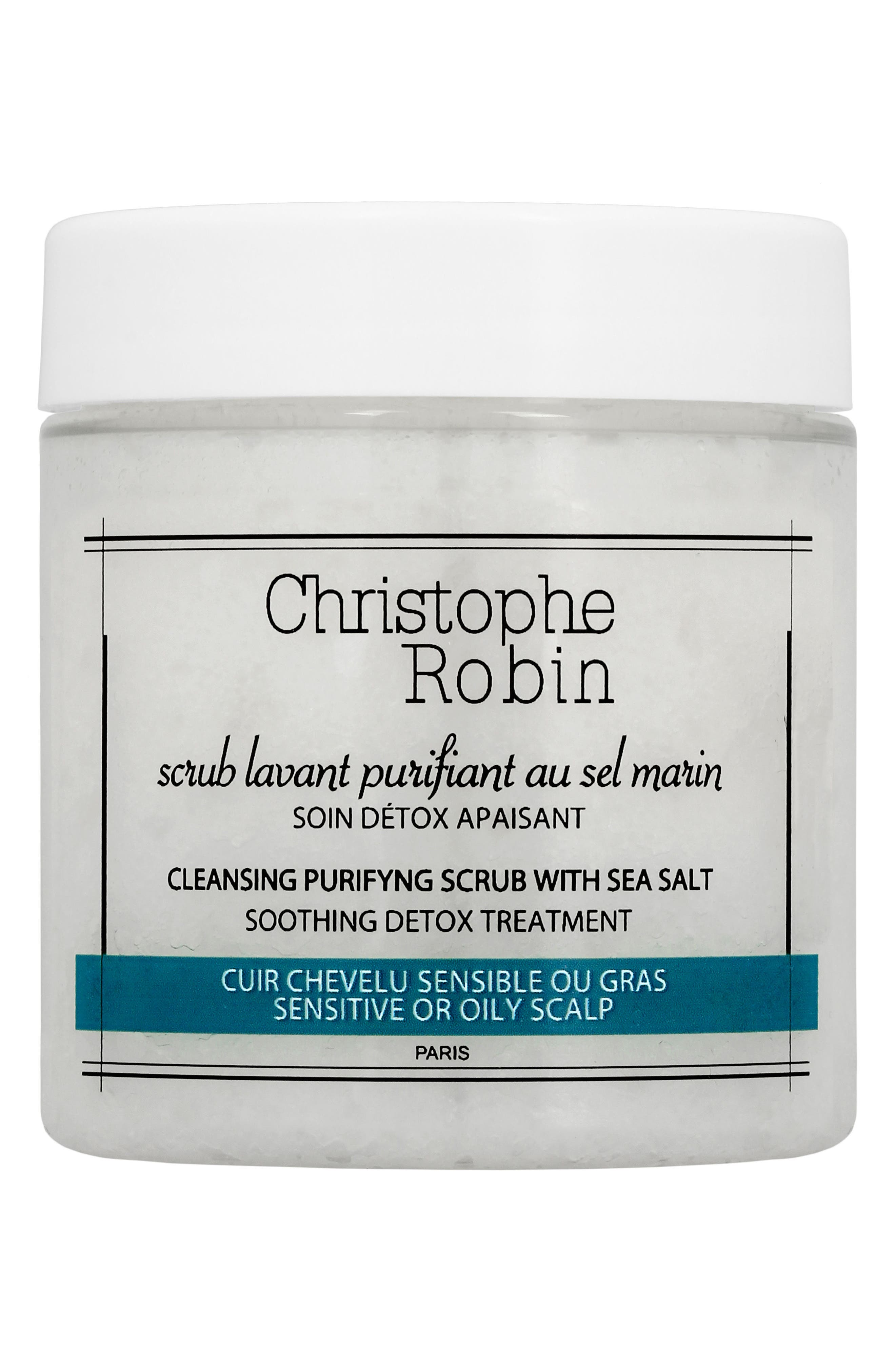 Main Image - SPACE.NK.apothecary Christophe Robin Cleansing Purifying Scrub with Sea Salt