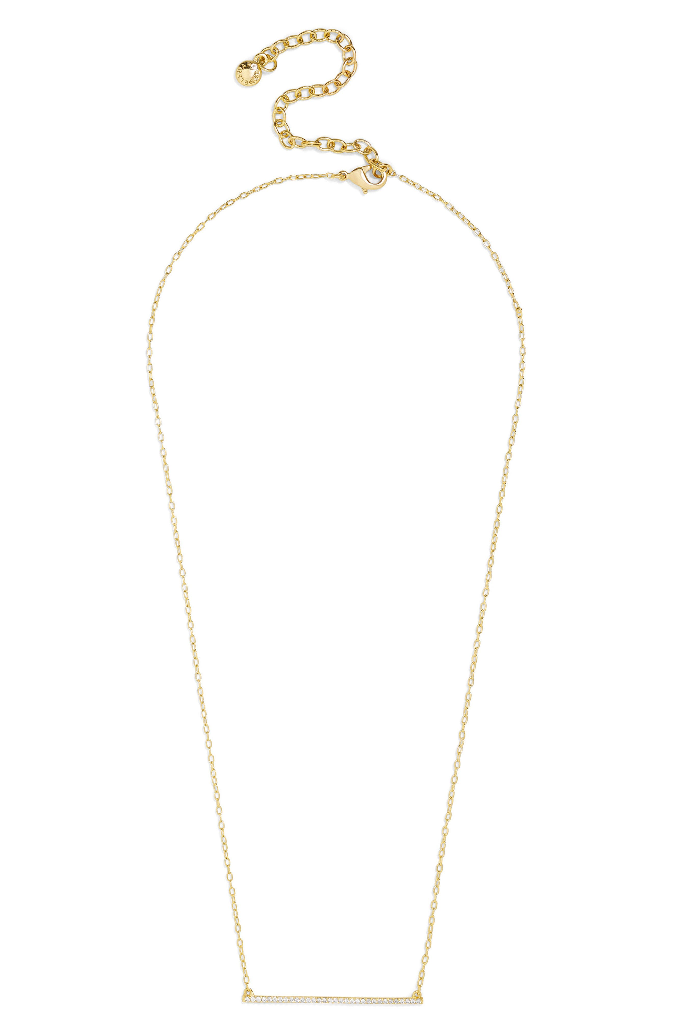 Kimberly Necklace,                             Main thumbnail 1, color,                             Gold