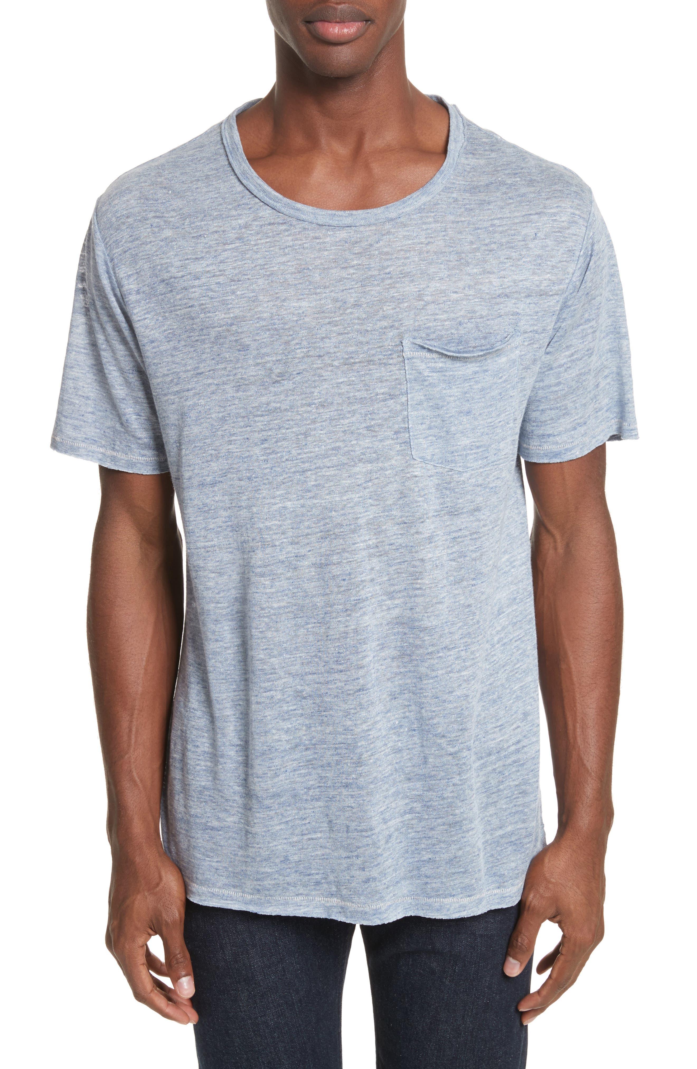 Owen T-Shirt,                         Main,                         color, Blue