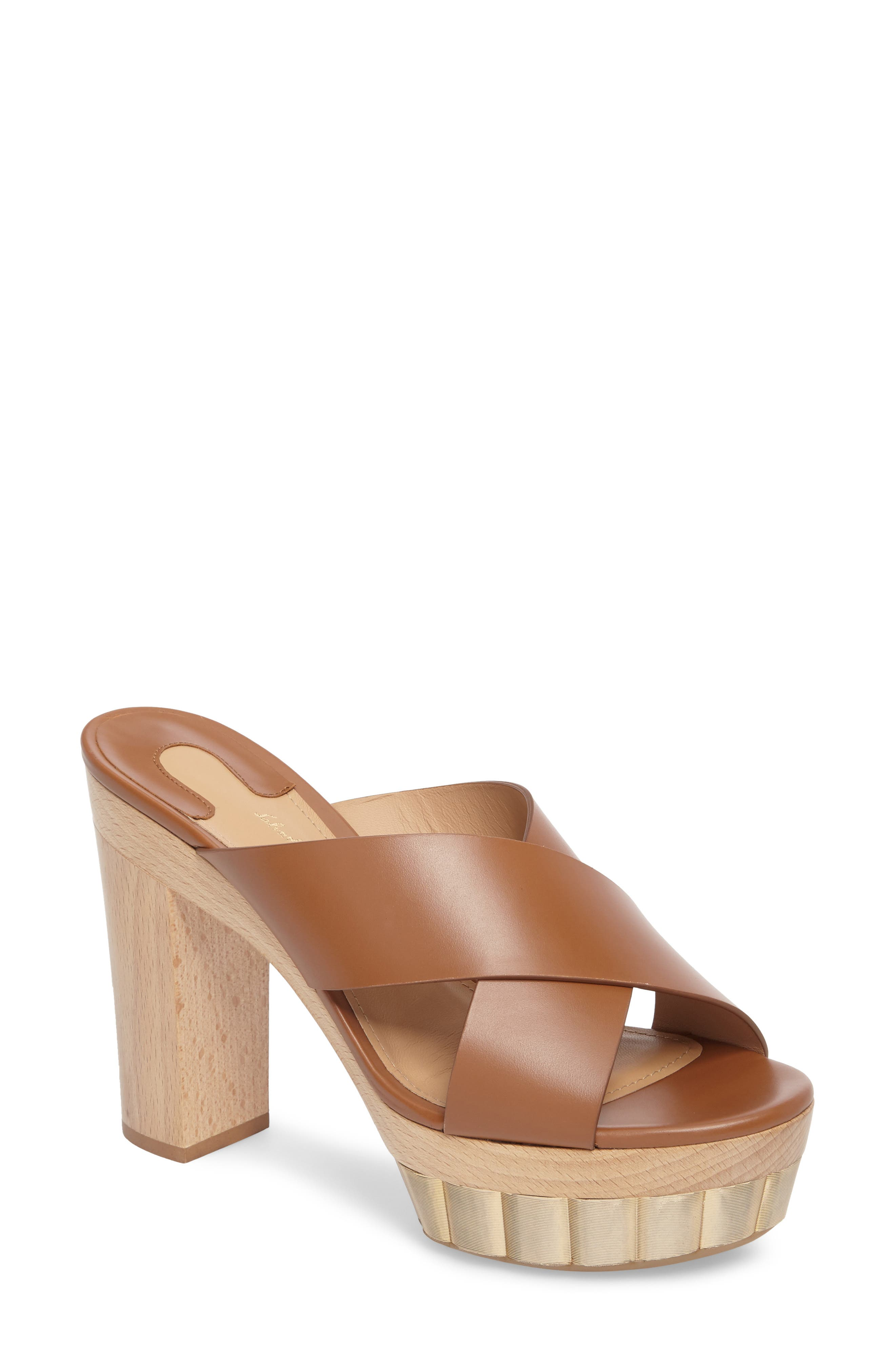 Salvatore Ferragamo Agira Platform Slide Sandal (Women)
