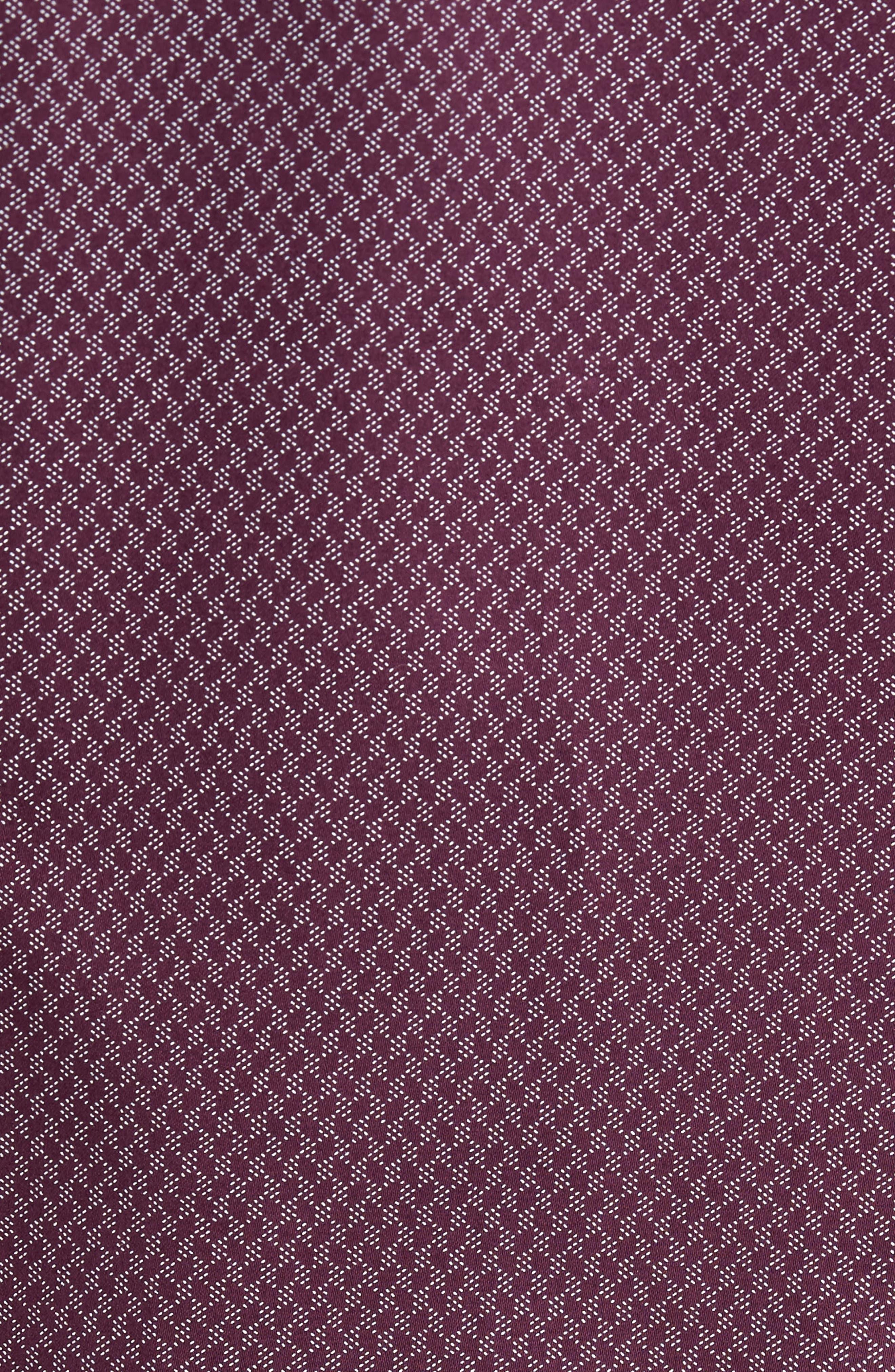 Alternate Image 5  - Ted Baker London Modern Slim Fit Print Sport Shirt
