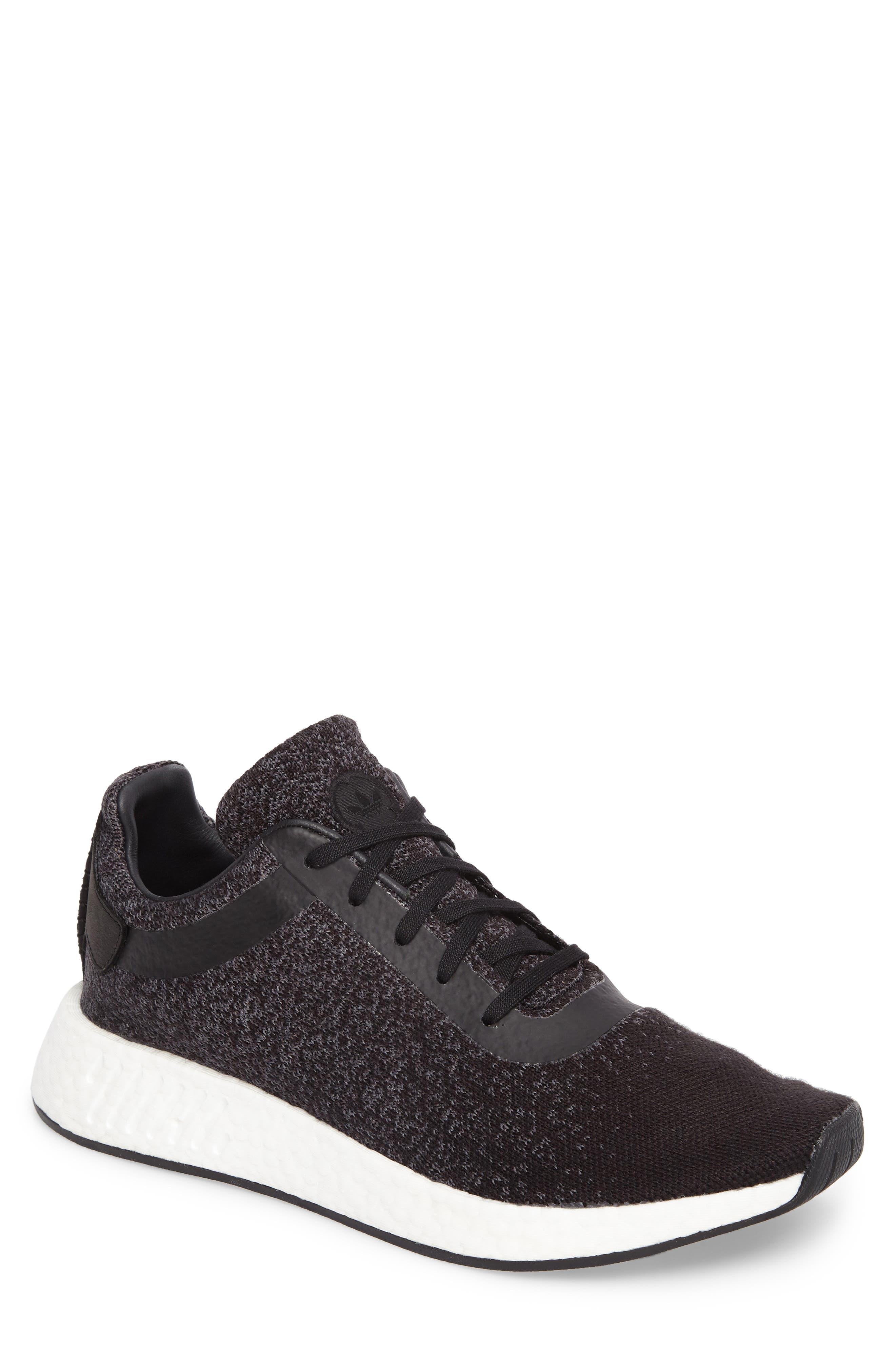 Main Image - adidas x wings + horns Primeknit NMD_R2 Sneaker (Men)