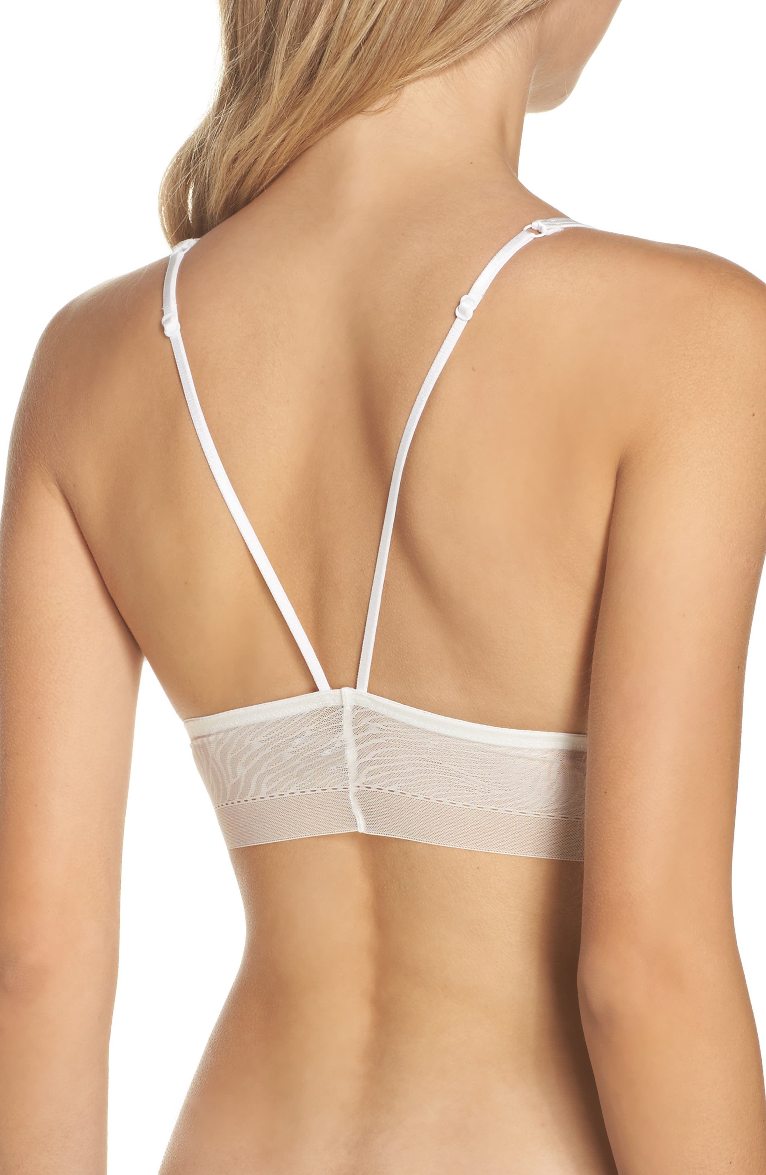 Intimately FP Can't Be Tamed Longline Bralette,                             Alternate thumbnail 2, color,                             Ivory