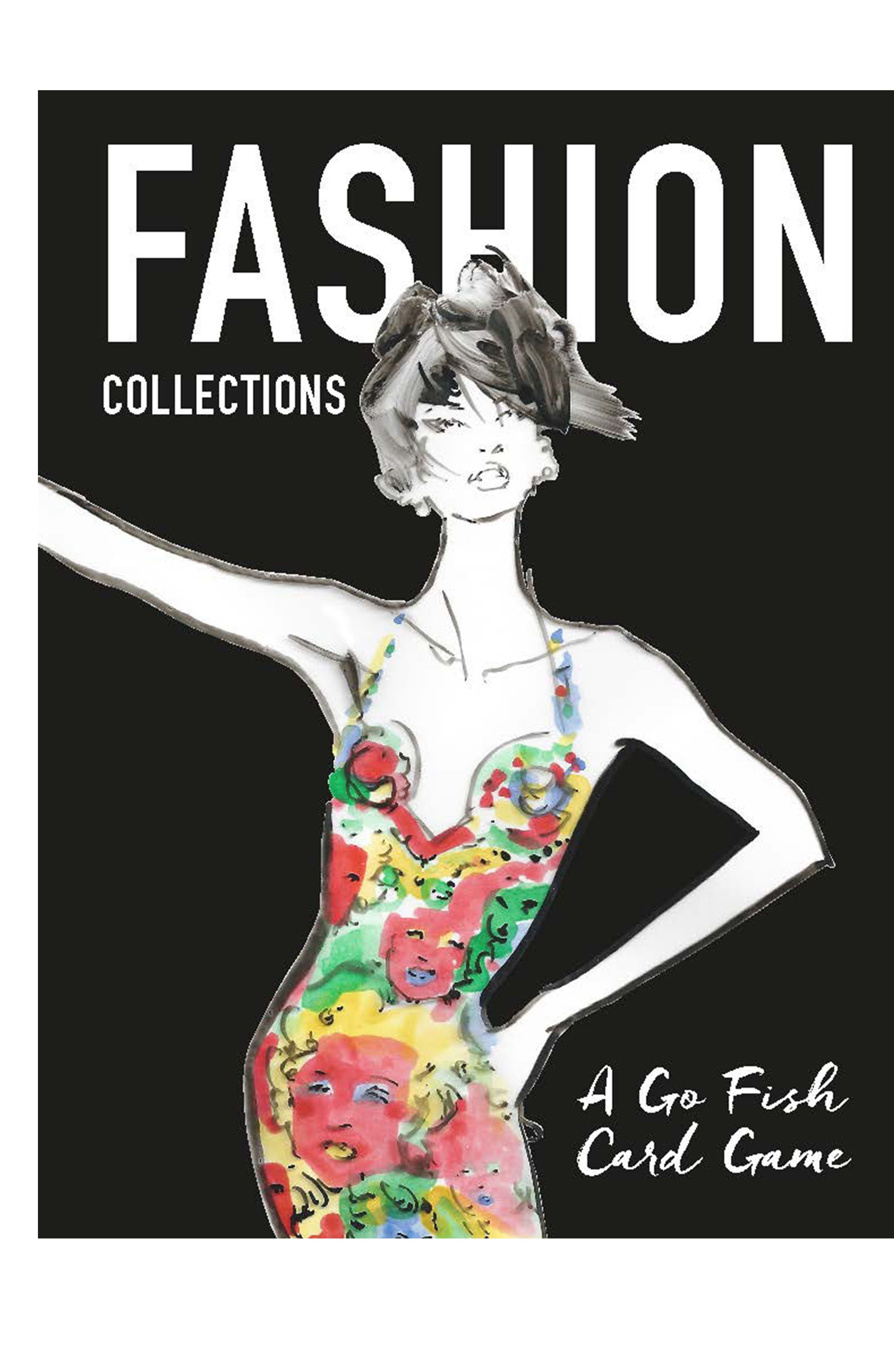 Fashion Collections Card Game,                         Main,                         color, Black