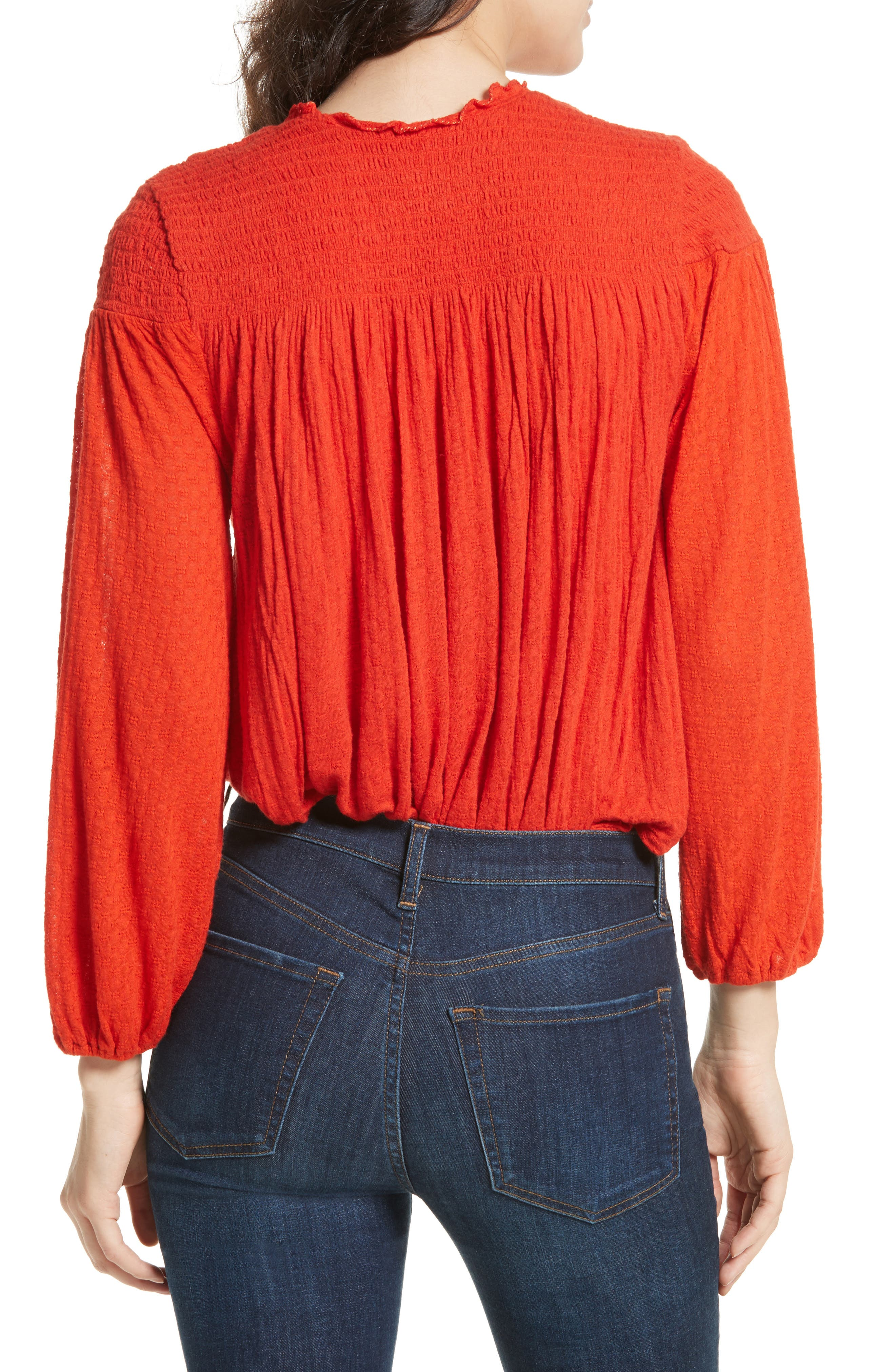 Begonia Top,                             Alternate thumbnail 2, color,                             Red