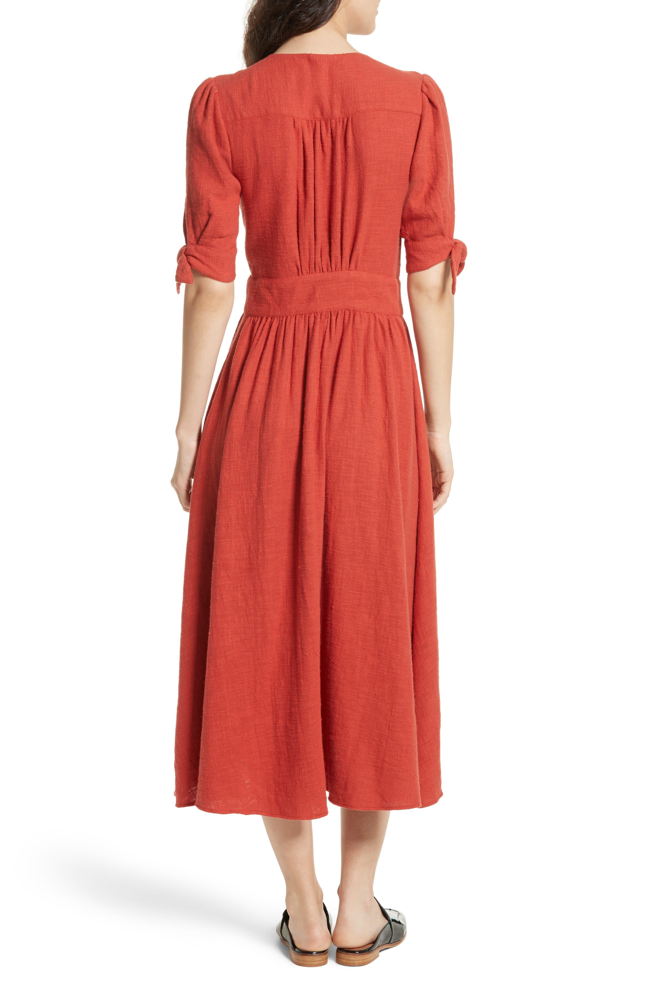 Alternate Image 2  - Free People Love of My Life Midi Dress