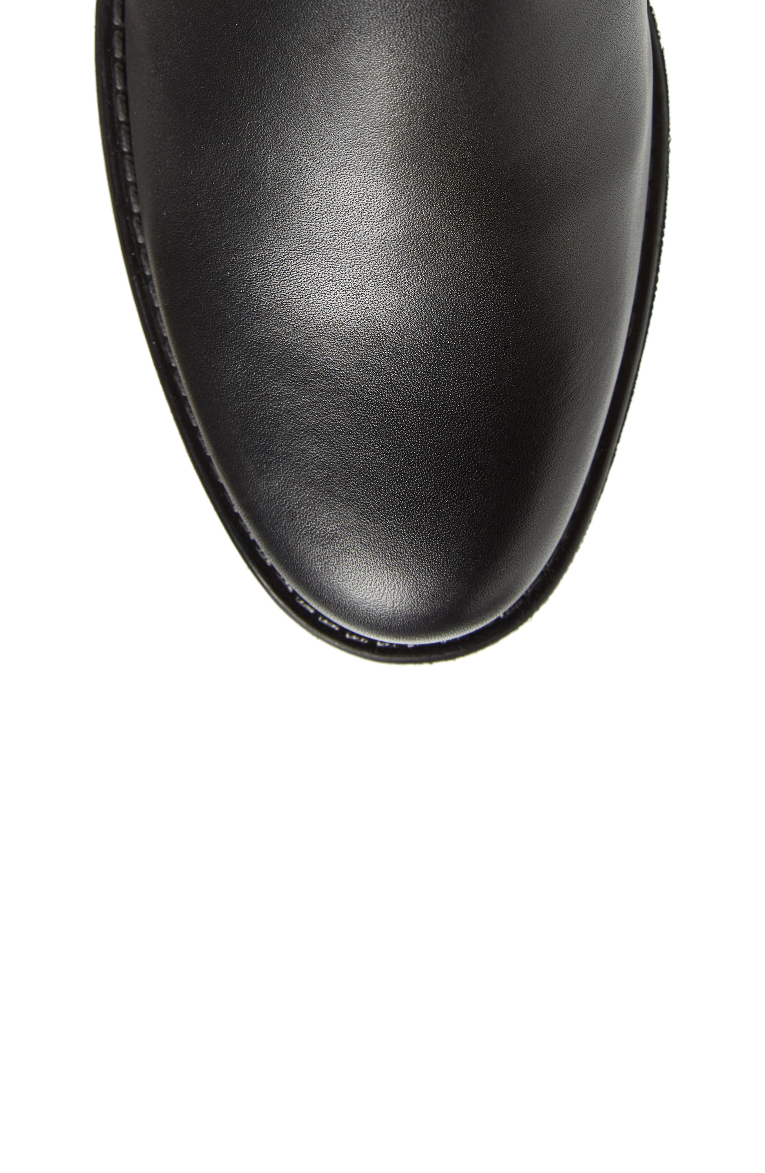 Dogueno Waterproof Boot,                             Alternate thumbnail 5, color,                             Black Leather