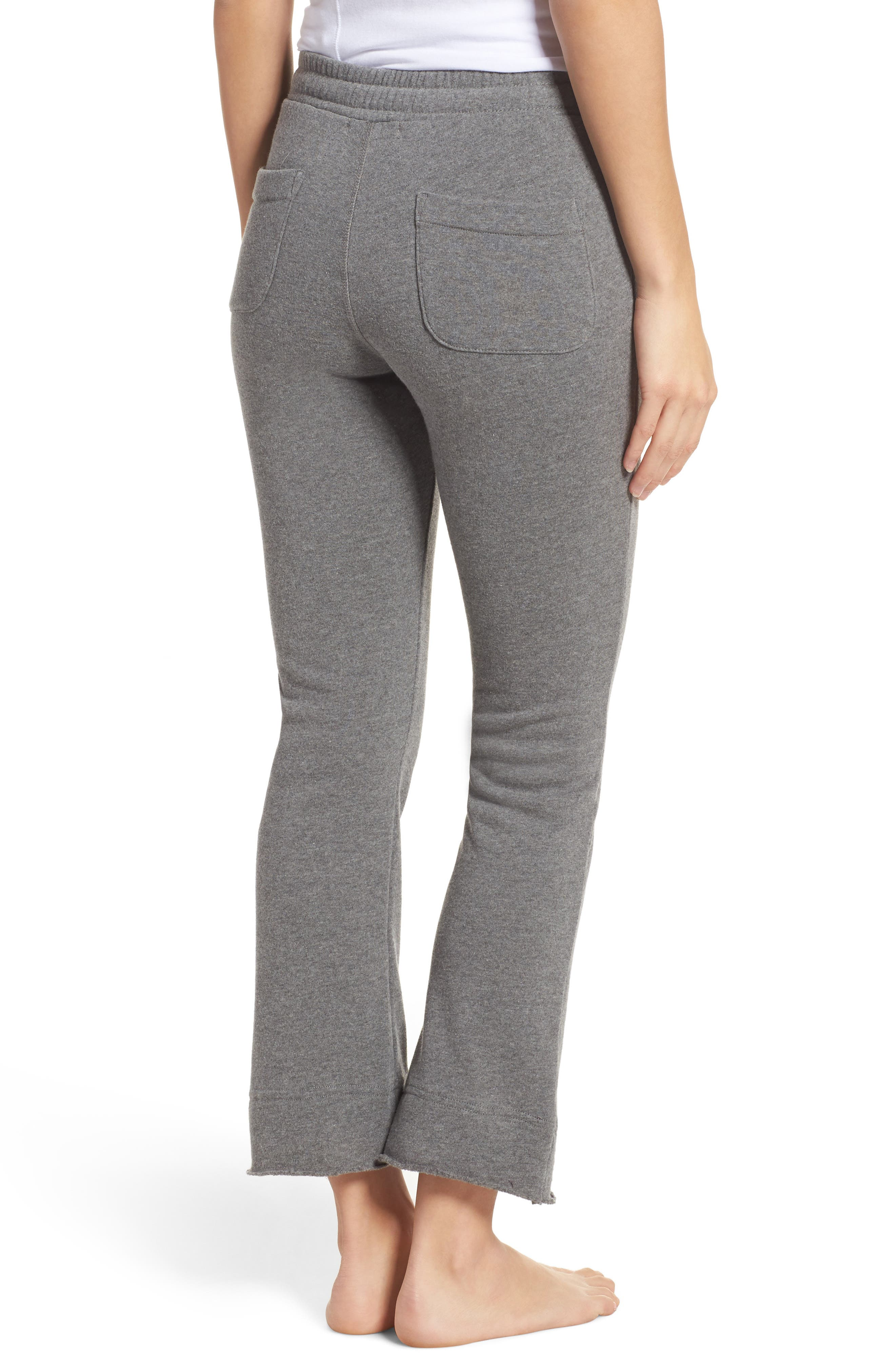 Alternate Image 2  - Ragdoll Crop Flare Sweatpants