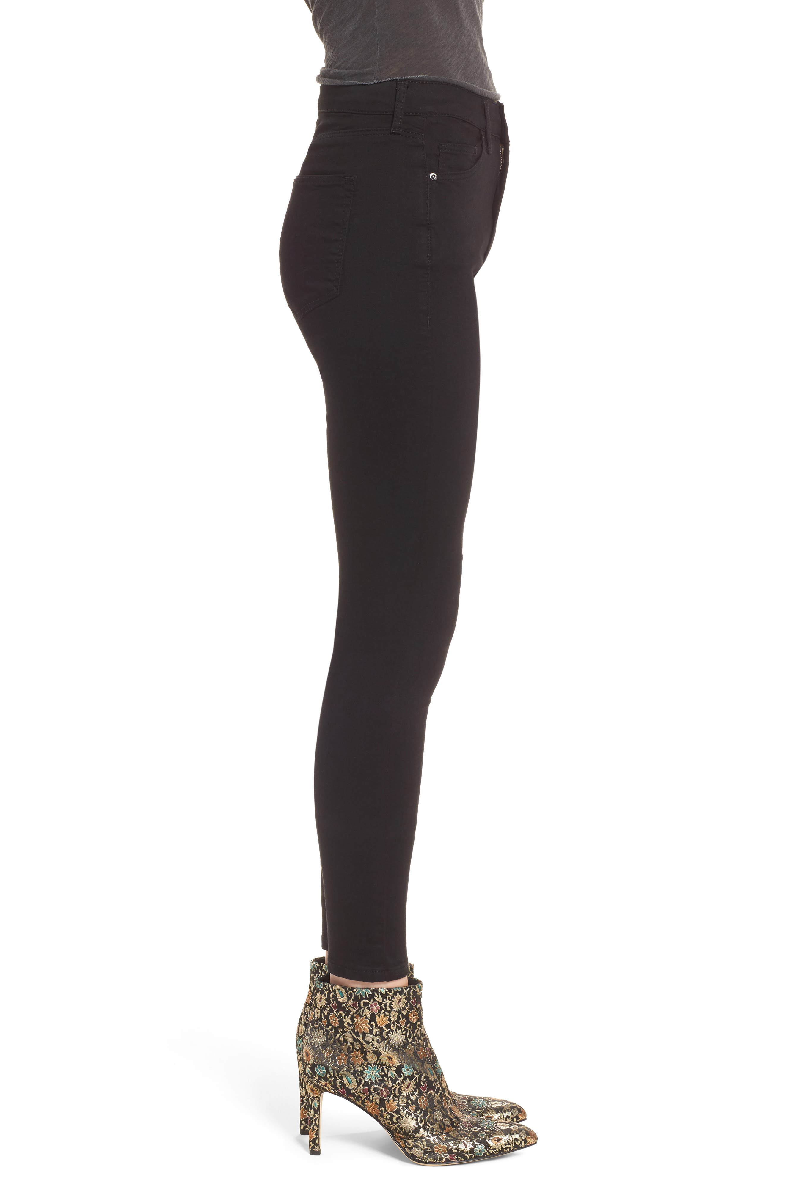 Alternate Image 3  - Topshop Leigh Ankle Skinny Jeans