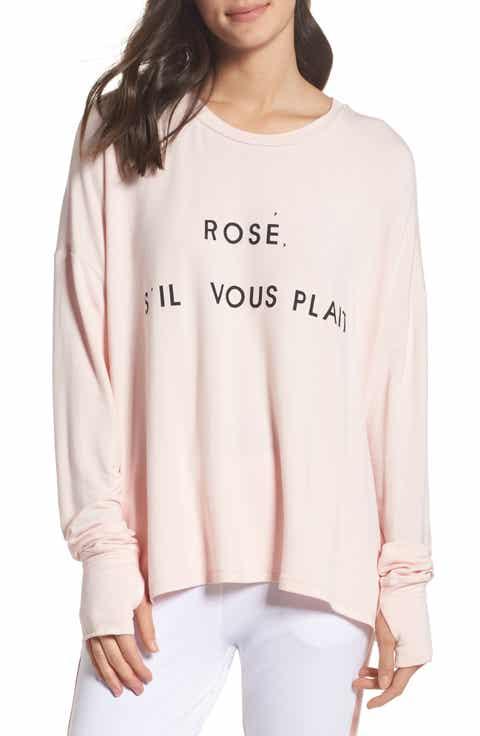 The Laundry Room Rosé Please Sweatshirt