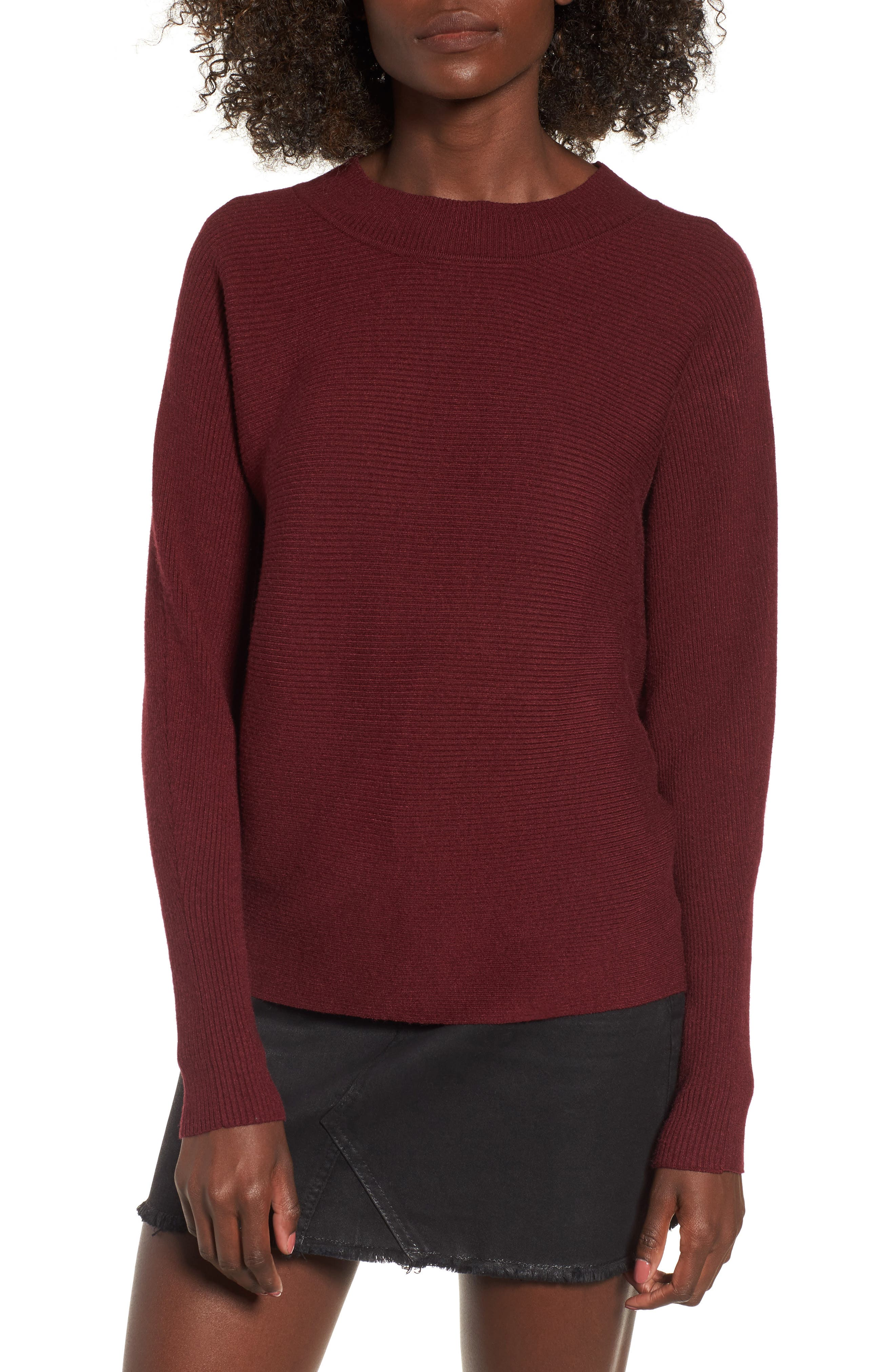 Alternate Image 1 Selected - Cotton Emporium Dolman Sweater