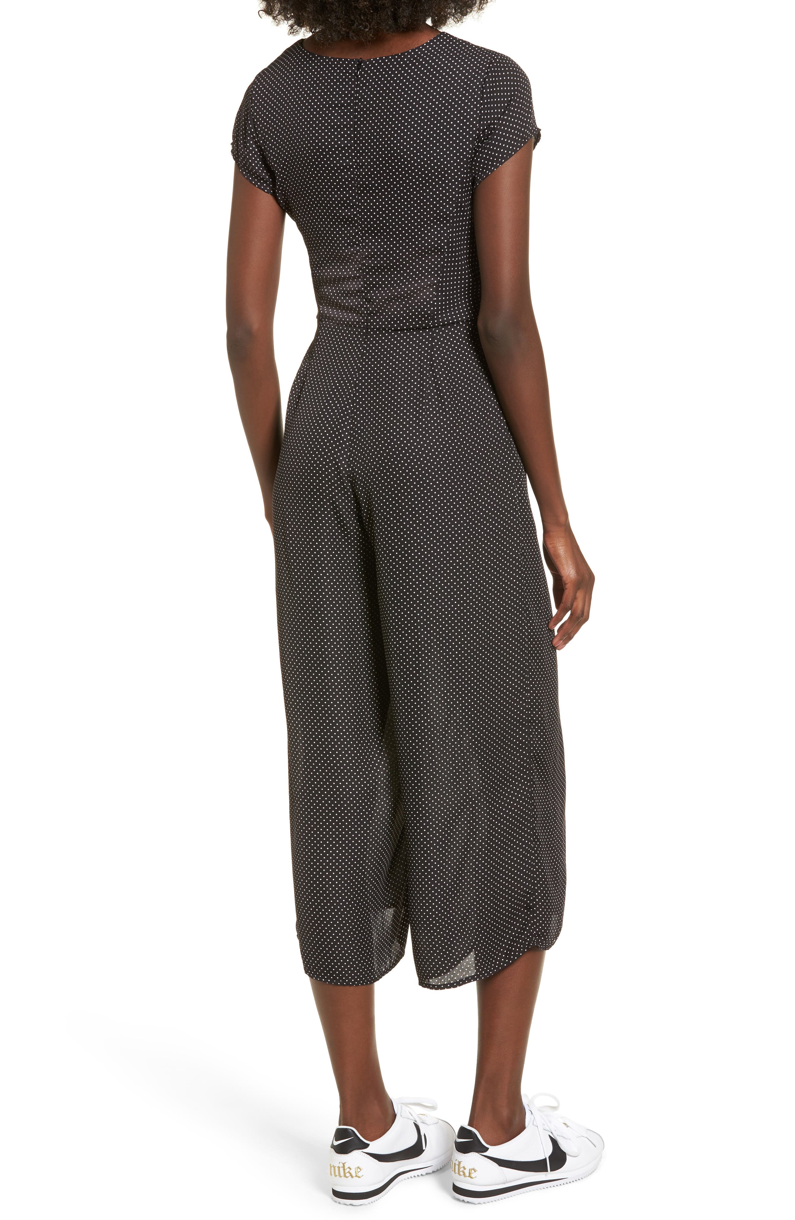 Alternate Image 2  - Dee Elly Knotted Wide Leg Jumpsuit