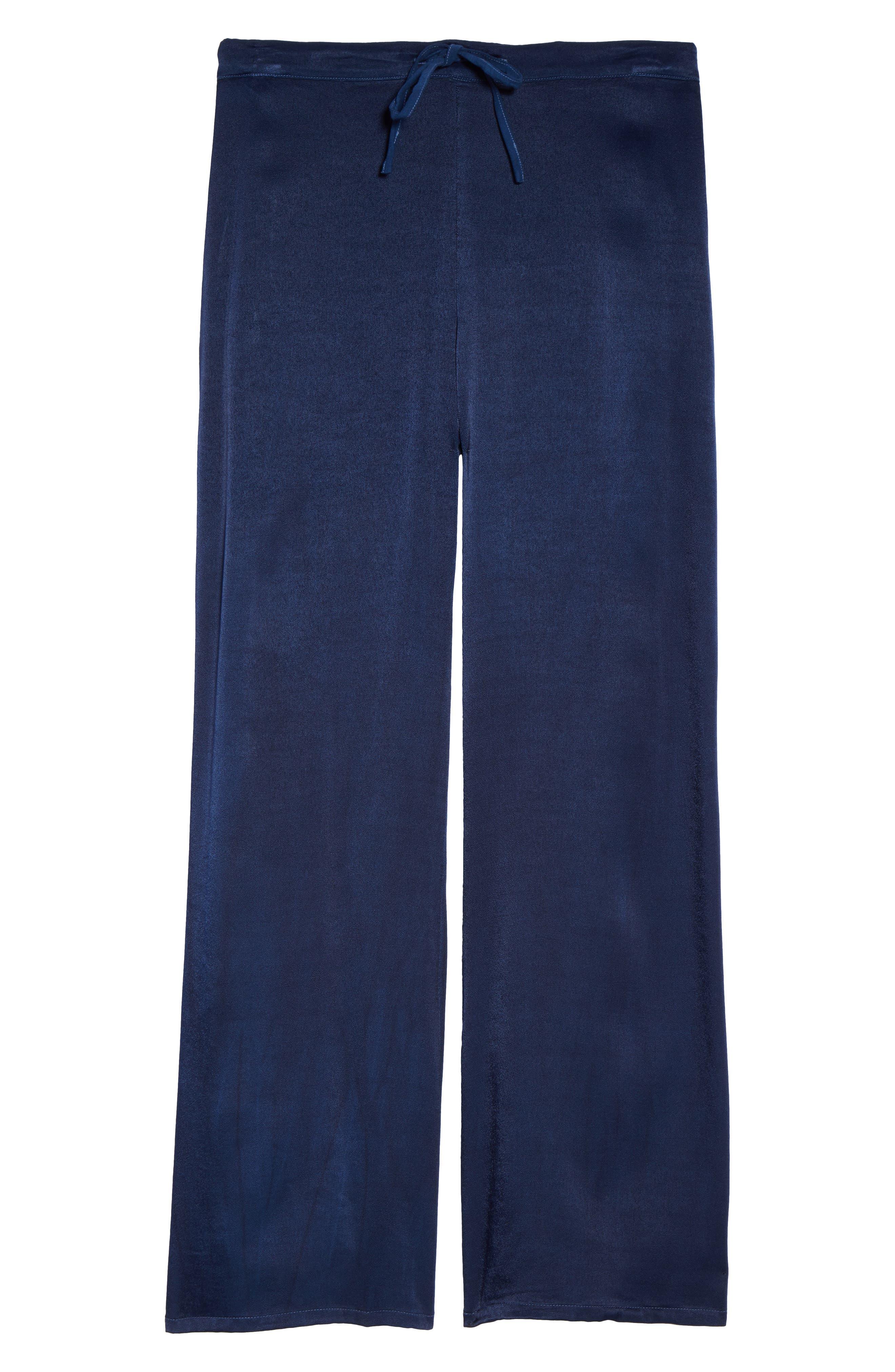 Vela Pajama Pants,                             Alternate thumbnail 7, color,                             Oxford