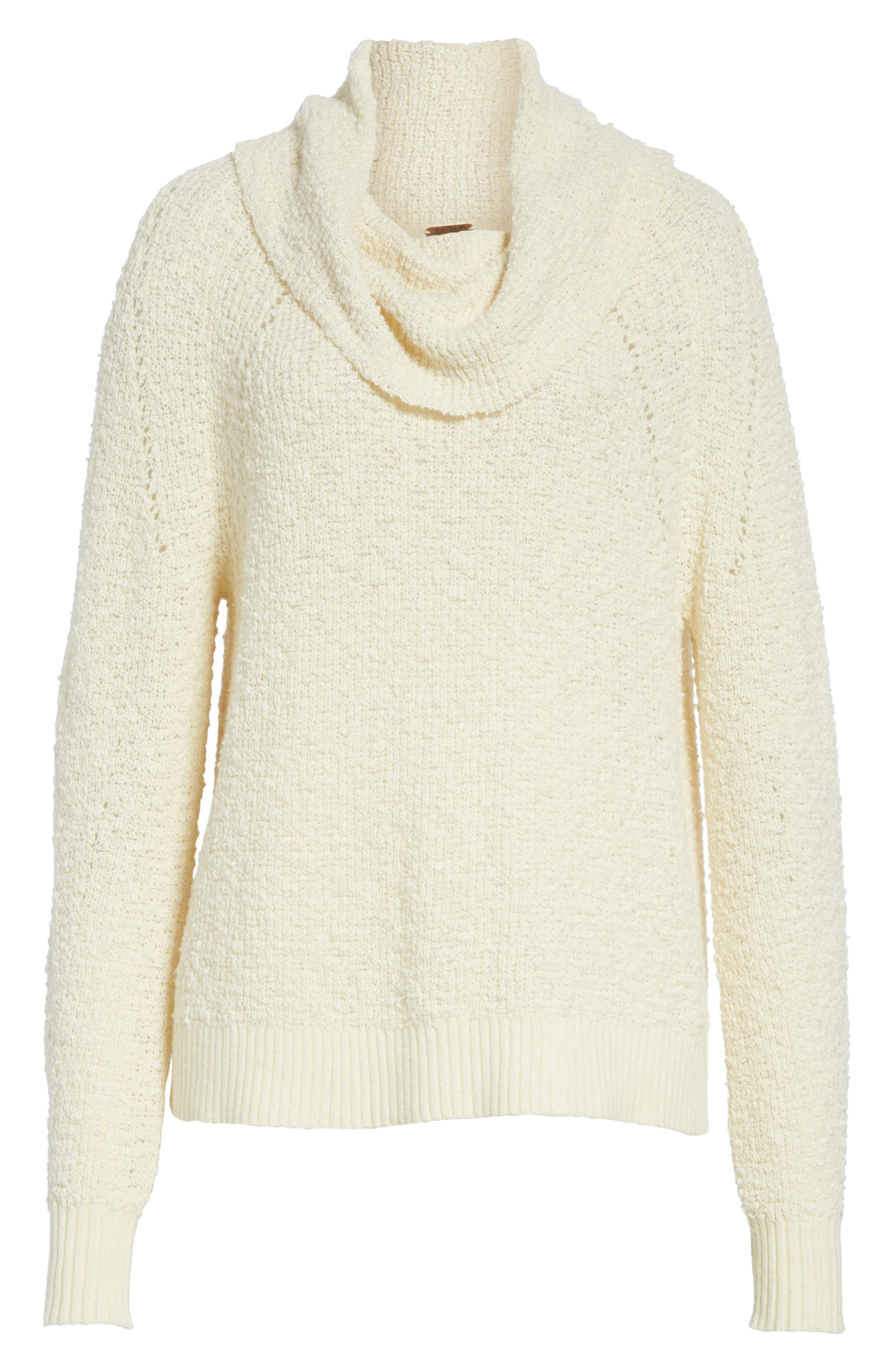 Alternate Image 6  - Free People By Your Side Sweater