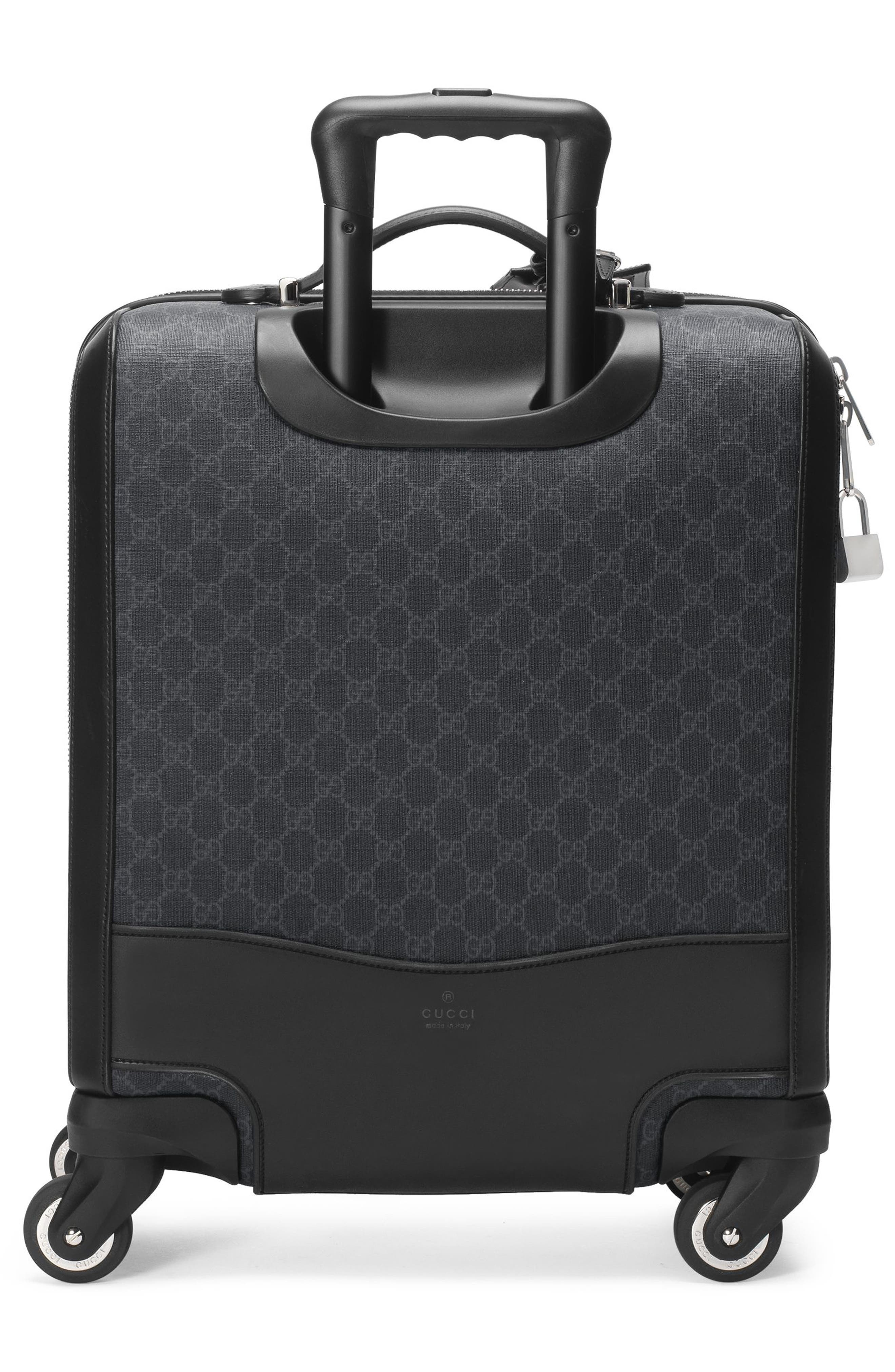 Gran Turismo Carry-On,                             Alternate thumbnail 7, color,                             Black
