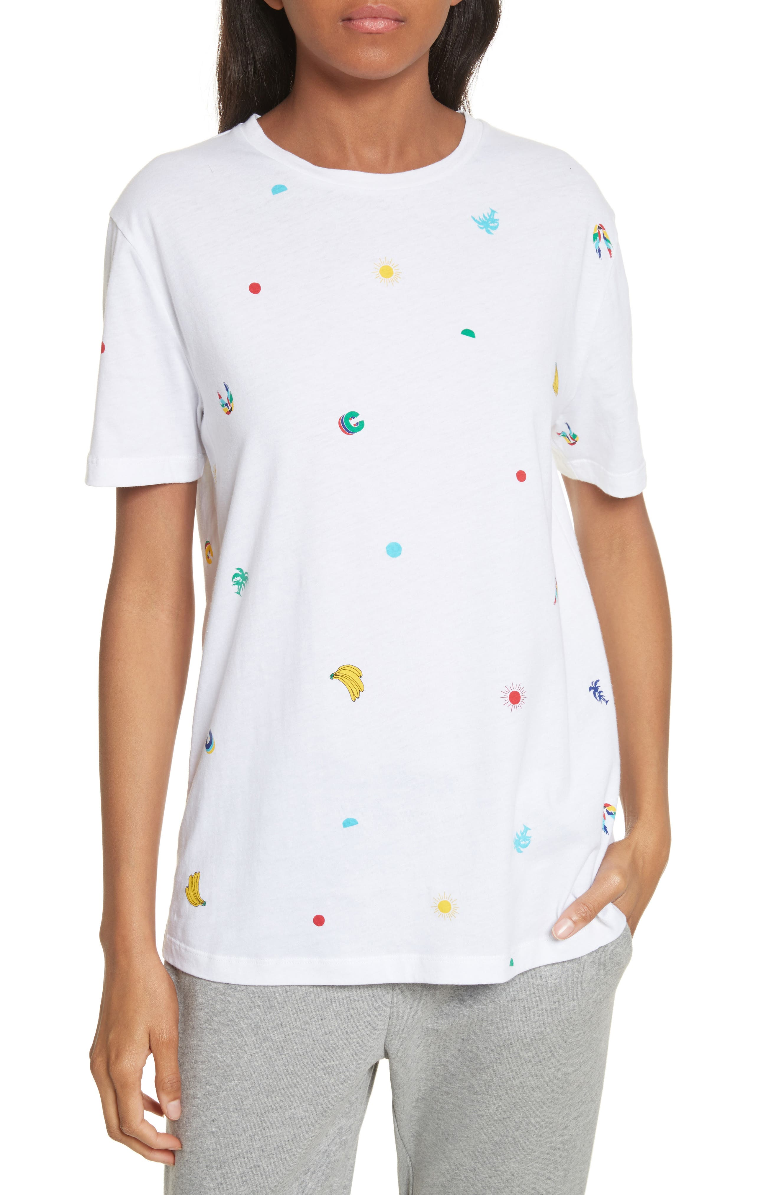 Etre Cecile TROPICAL ICON TEE