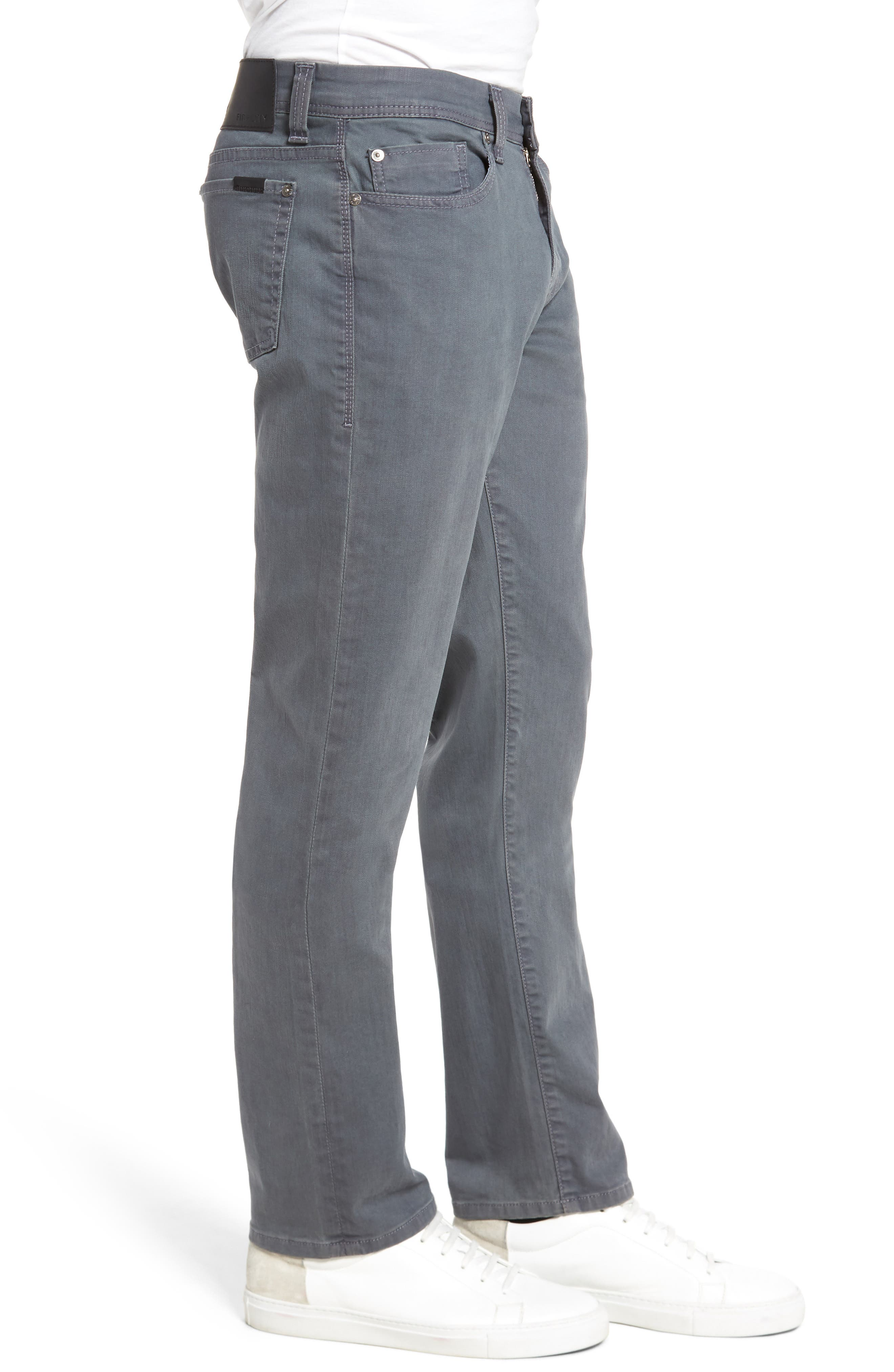 Jimmy Slim Straight Fit Jeans,                             Alternate thumbnail 3, color,                             Oyster