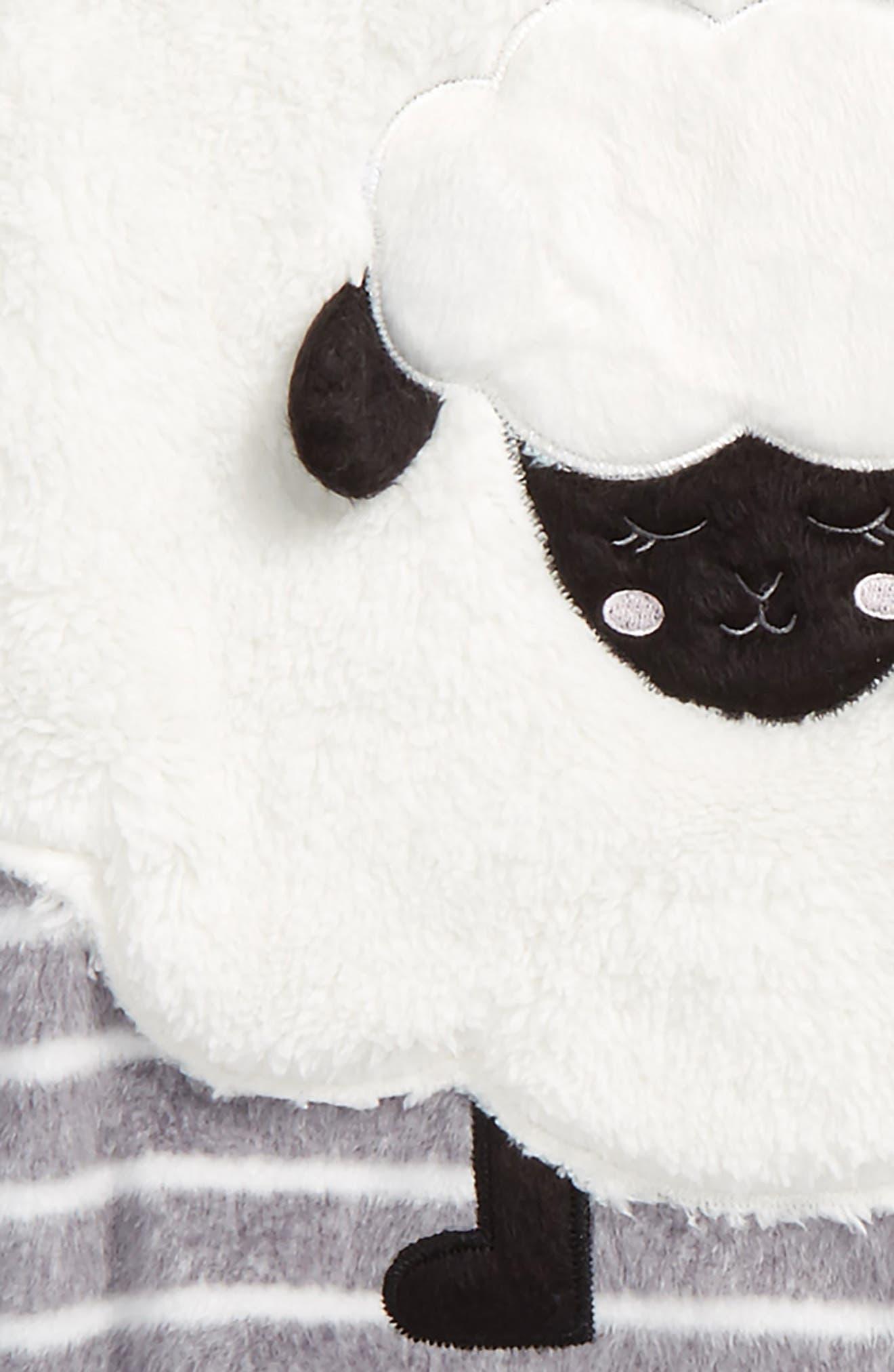 Alternate Image 2  - PJ Salvage Appliqué Two-Piece Pajamas (Big Girls)