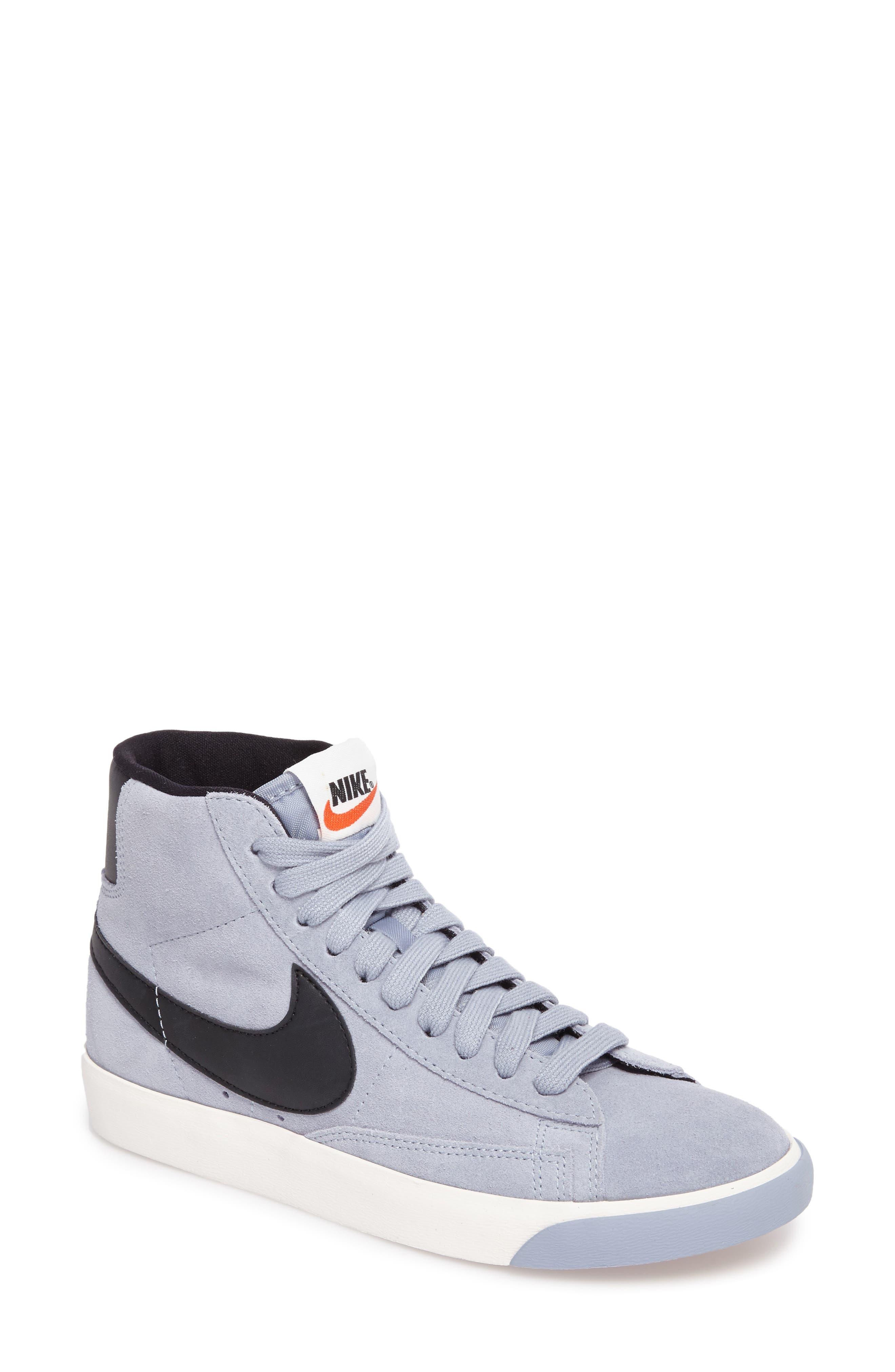 Alternate Image 1 Selected - Nike Blazer Mid Vintage Sneakers (Women)
