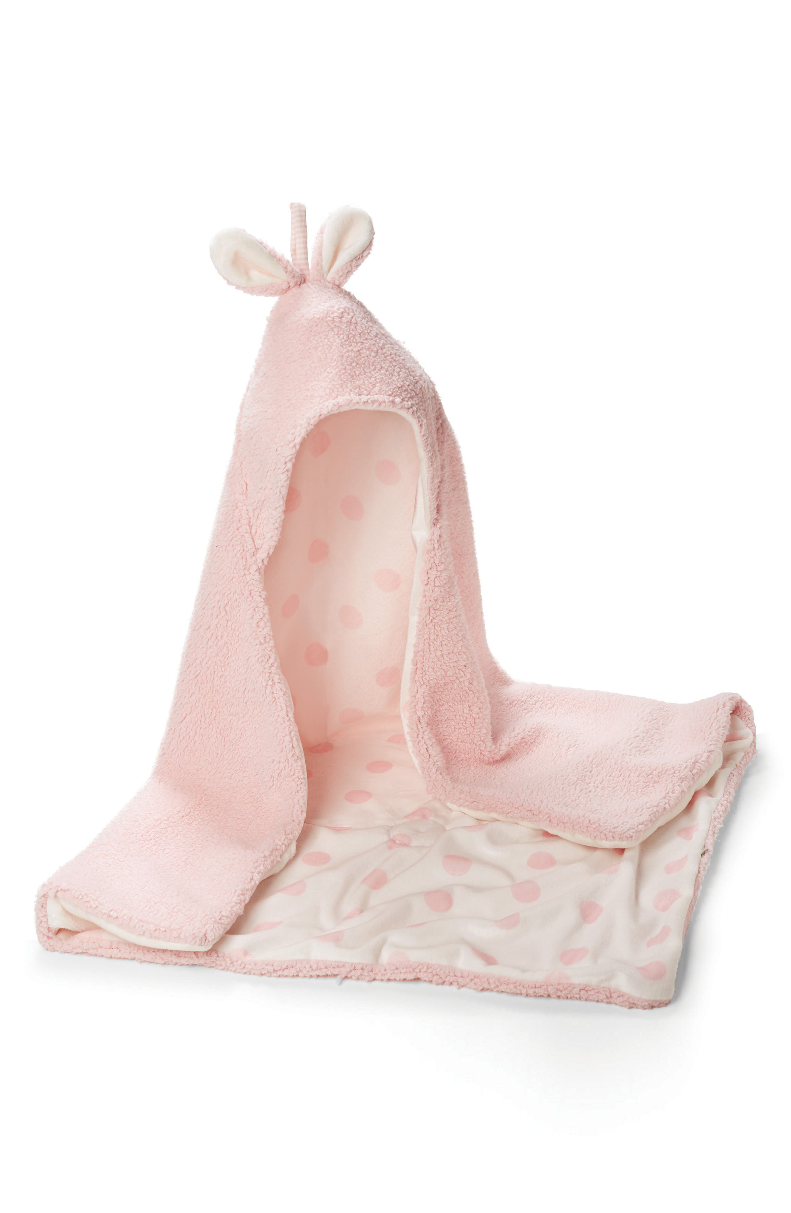 Bunnies By The Bay Bunny Hooded Blanket